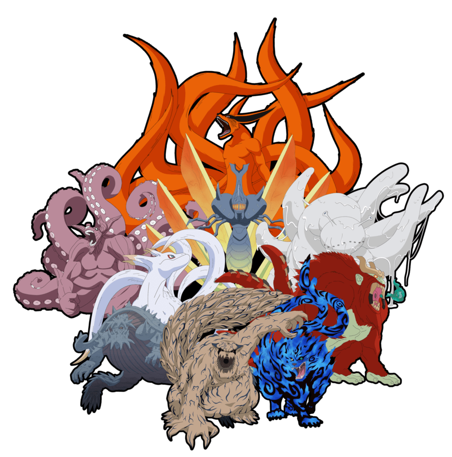 Naruto tailed beast pictures