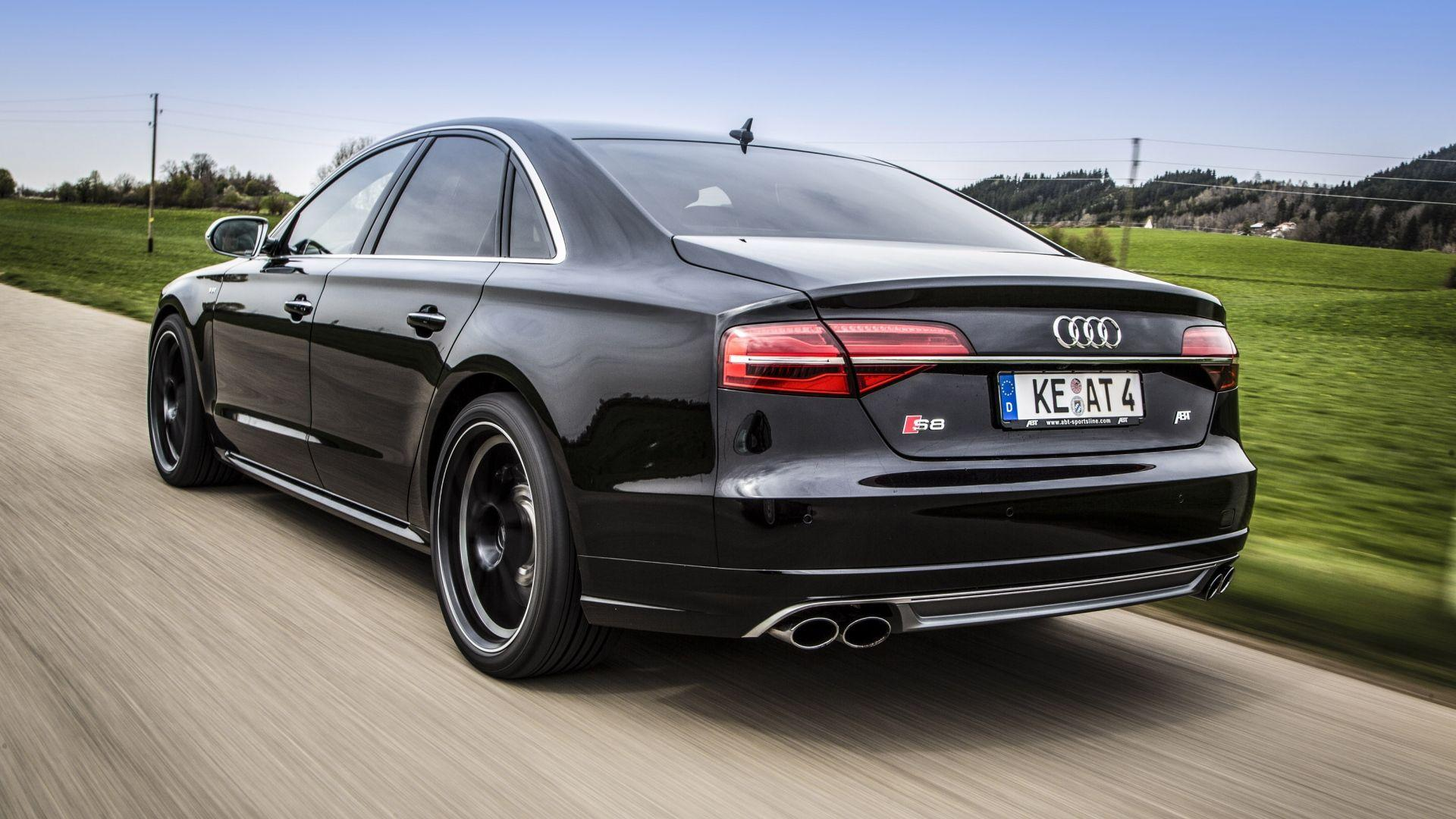Download Wallpapers 1920x1080 Audi, S8, Abt sportsline, Abt, Tuning
