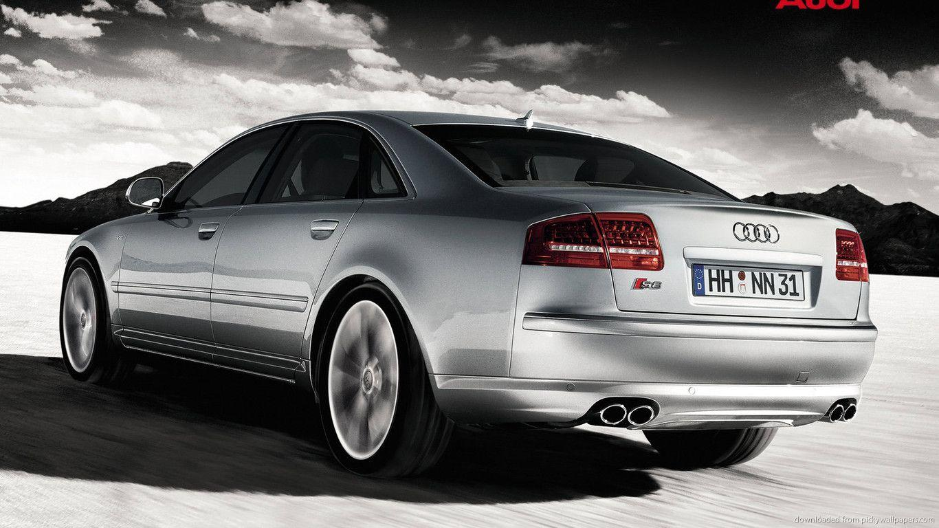 Download 1366x768 Audi S8 Wallpapers