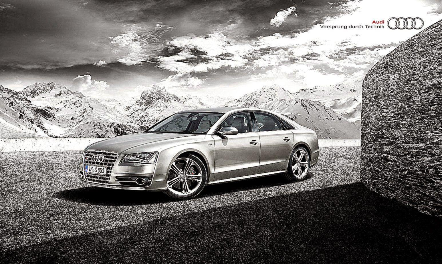 Audi S8 Poster Image