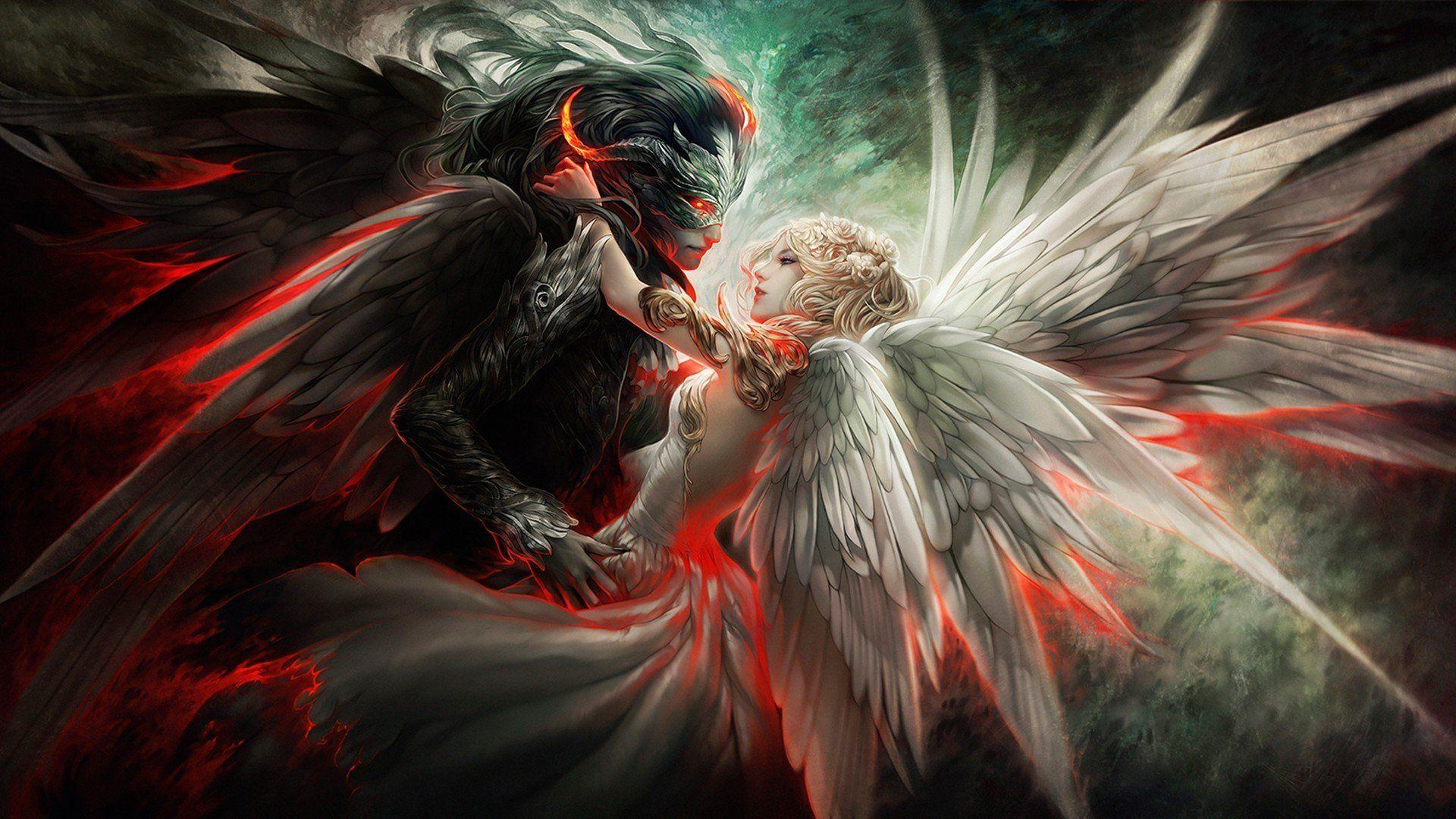 Demon Angel Wallpapers Group 1920×1180 Demon Angel Wallpapers