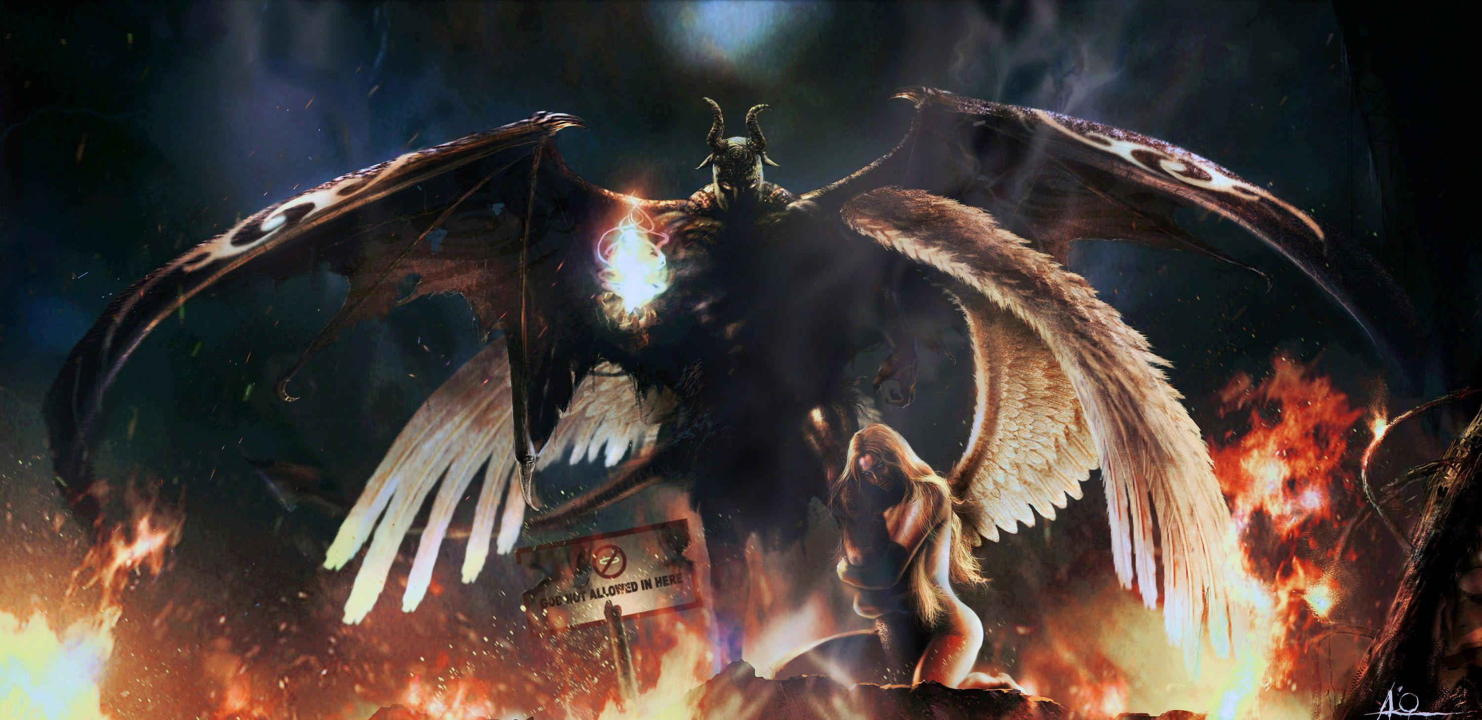 angels vs demons wallpapers hd download desktop wallpapers