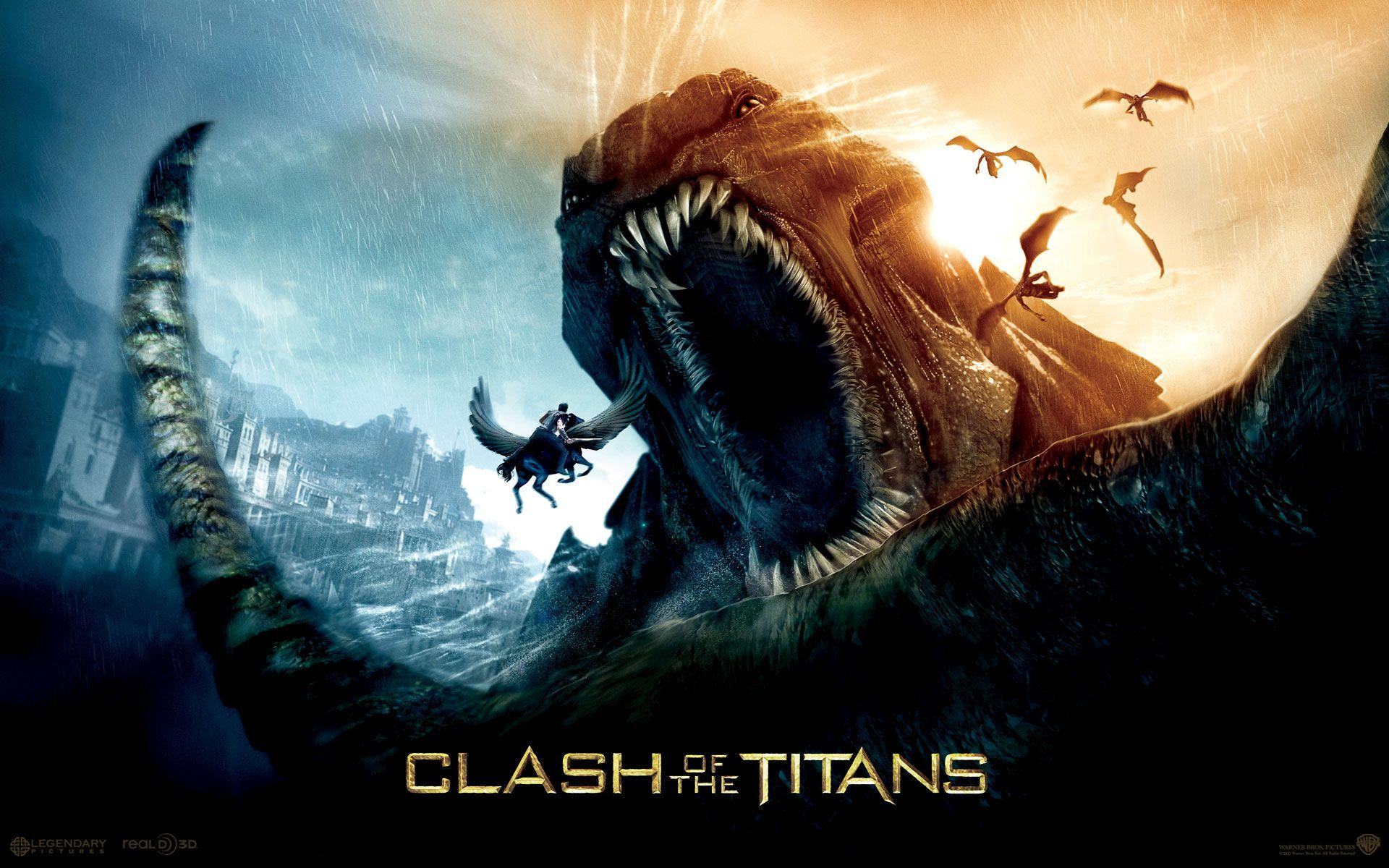 Clash Of The Titans Wallpapers Wallpaper Cave
