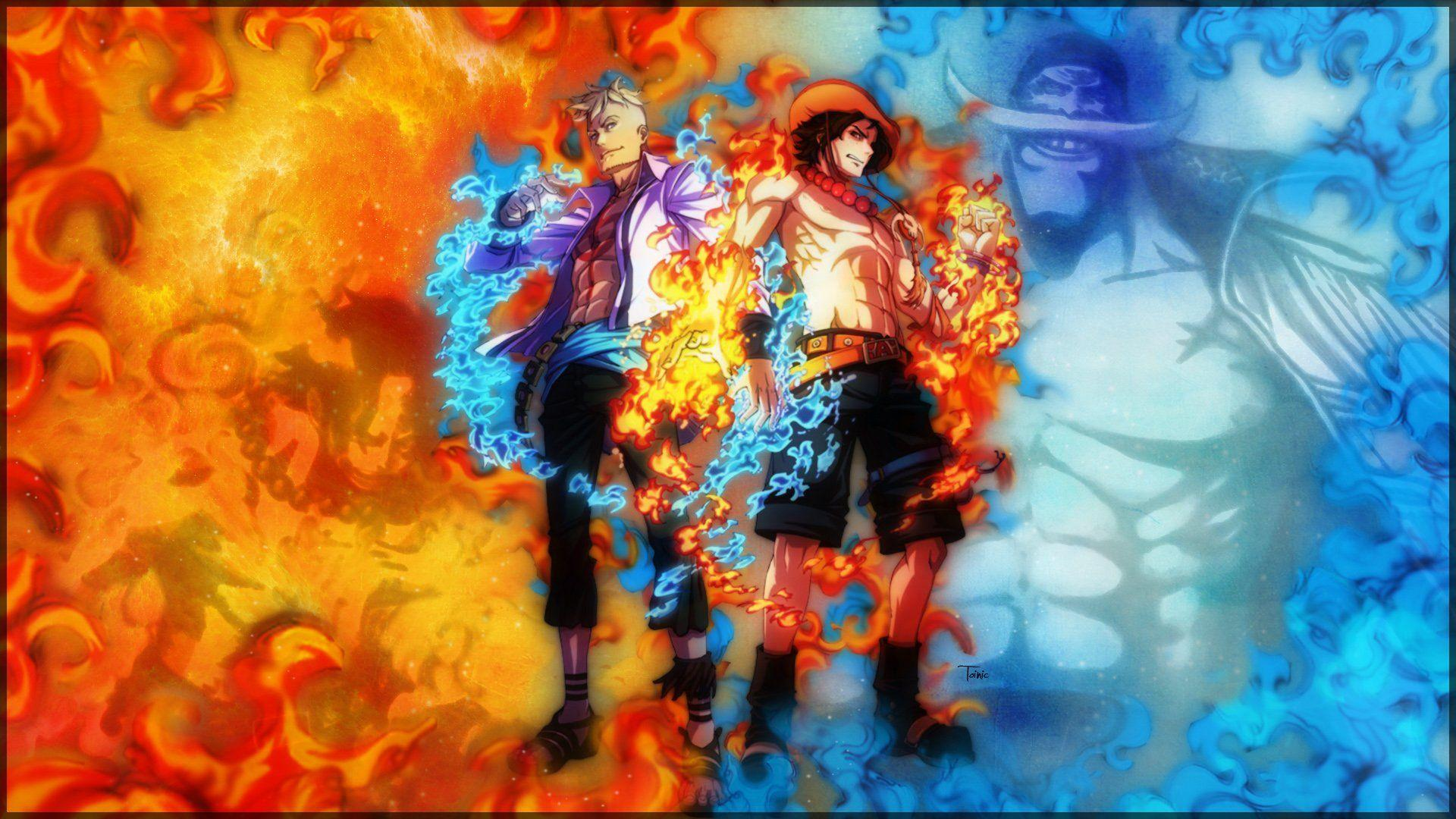 ONE PIECE Monkey D Luffy Sabo Portgas D Ace ASL wallpapers