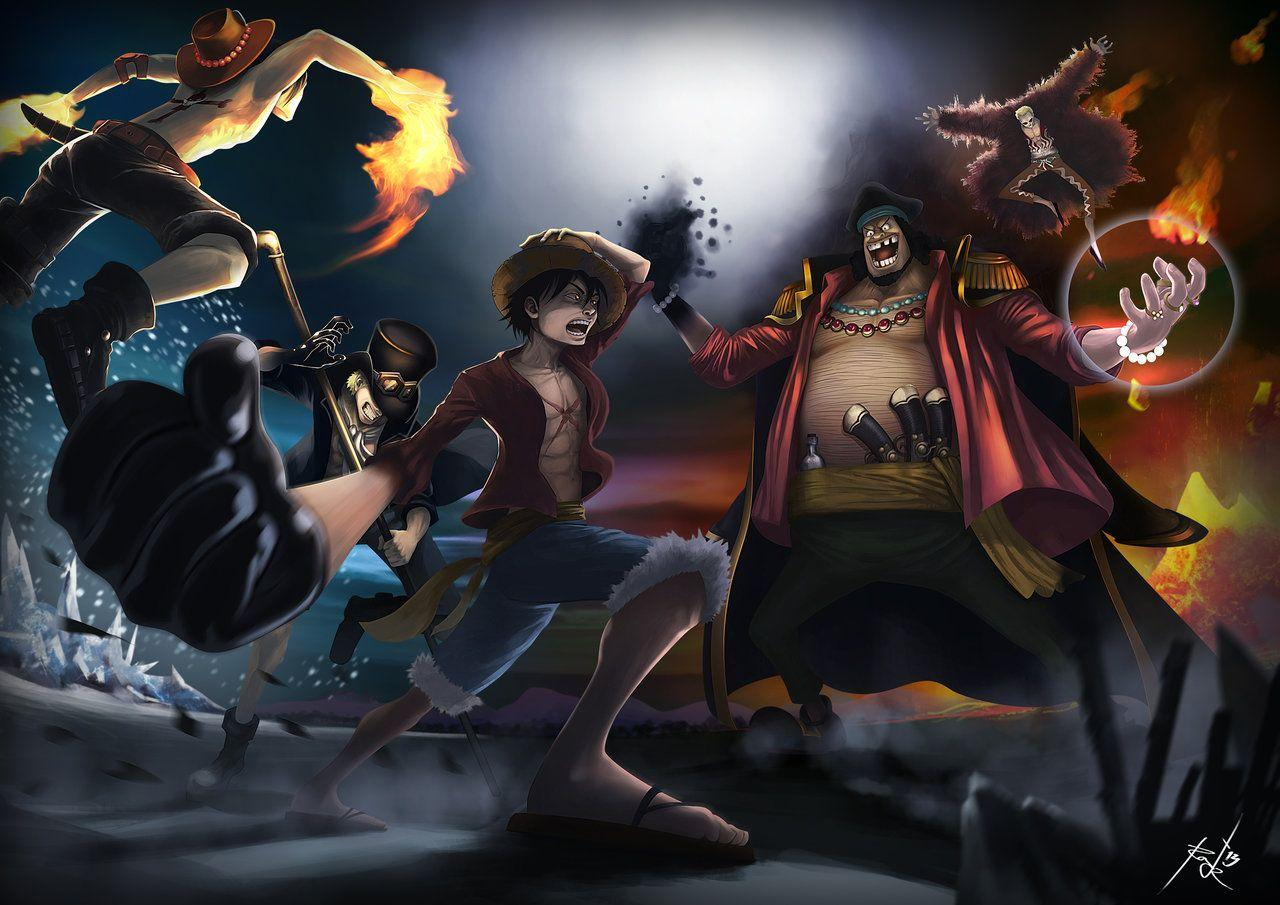 Could Ace Sabo & Luffy win against them?