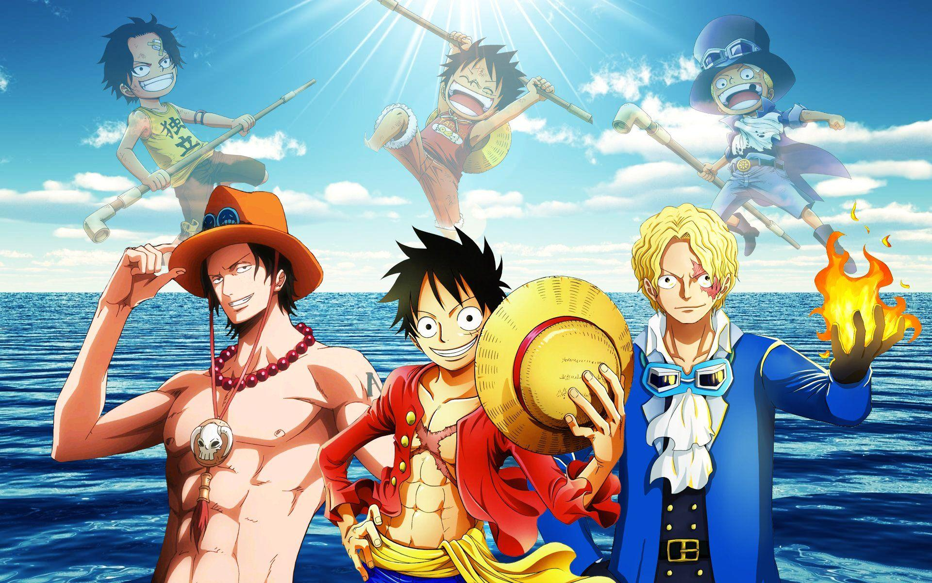 One Piece Luffy Ace Sabo Wallpapers