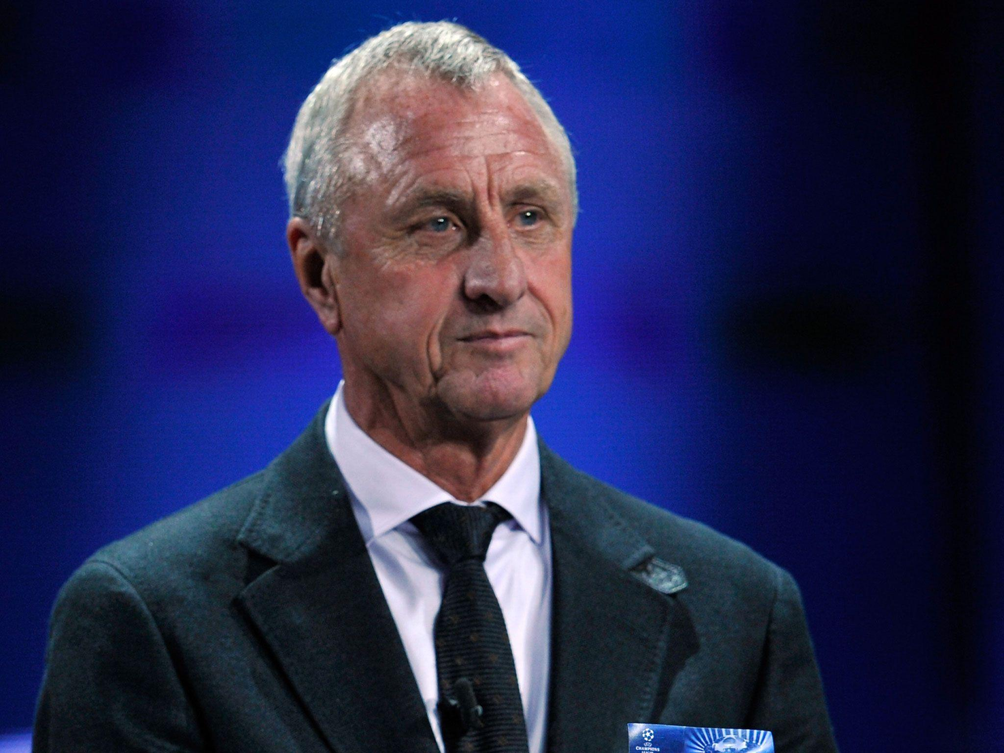 Barcelona legend Johan Cruyff reveals 'disappointment' that lung
