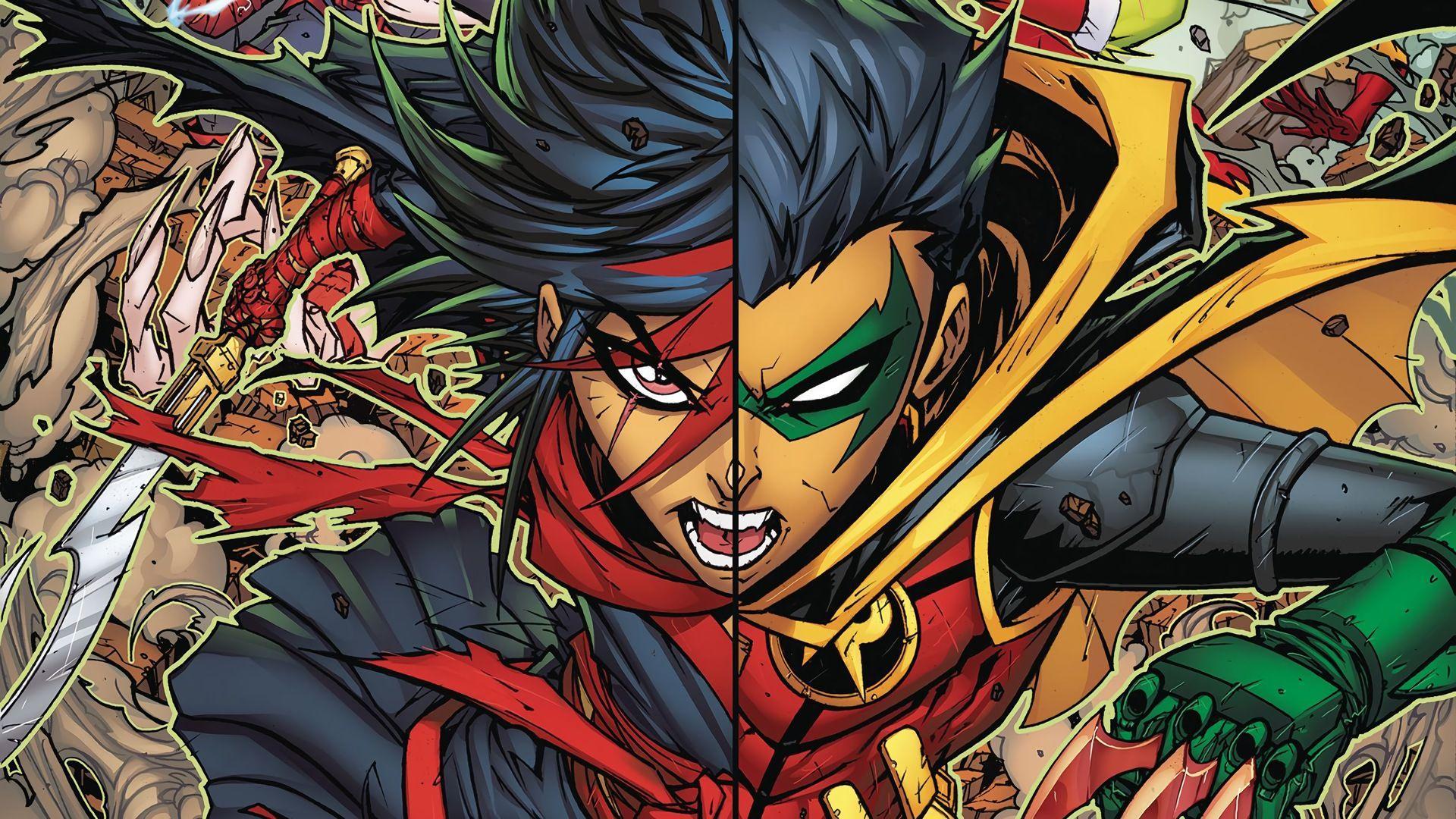 Damian Wayne- Hawkeye