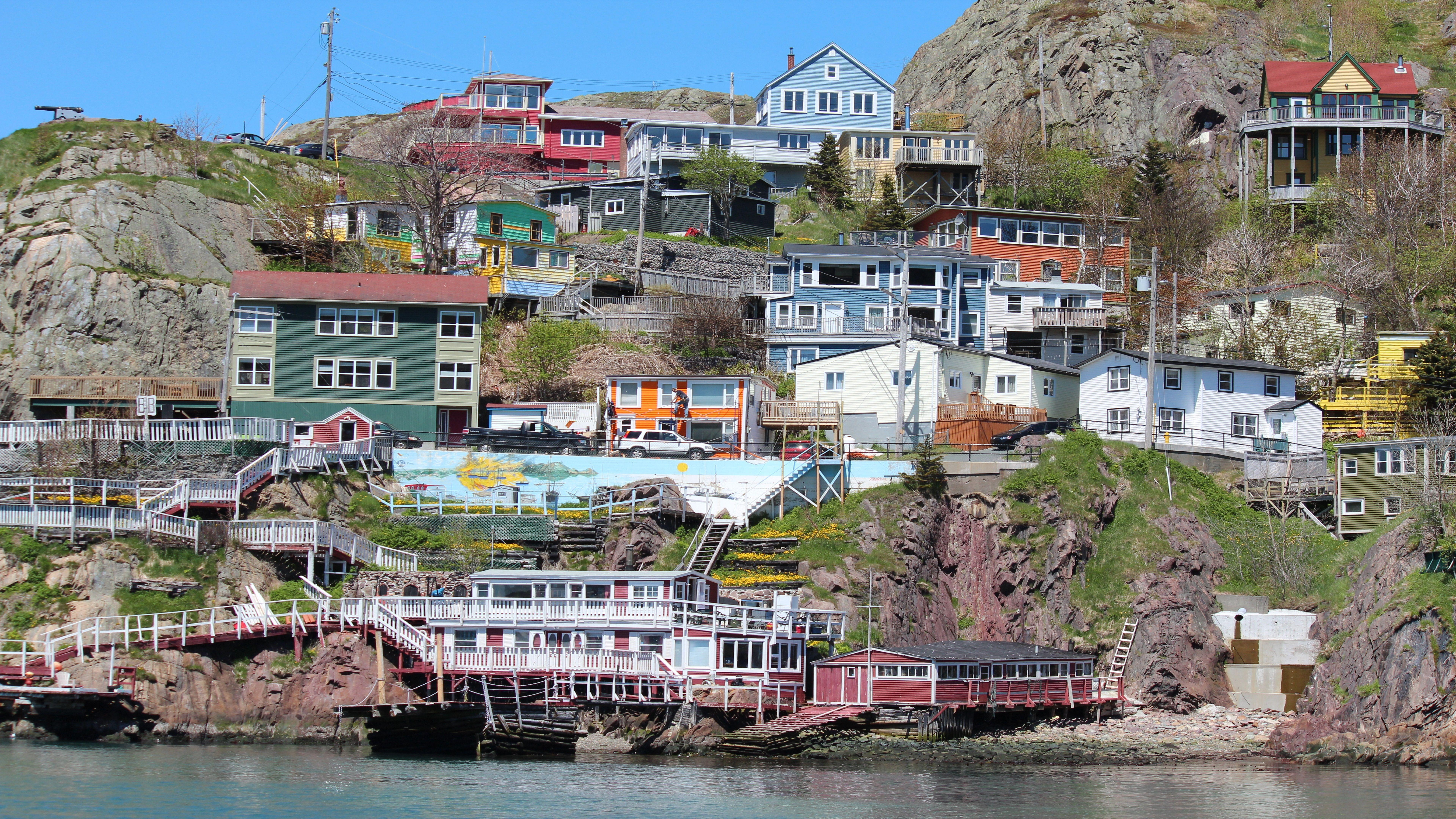 St. John's City Newfoundland 8K Wallpaper | Wallpapers 4K 5K 8K