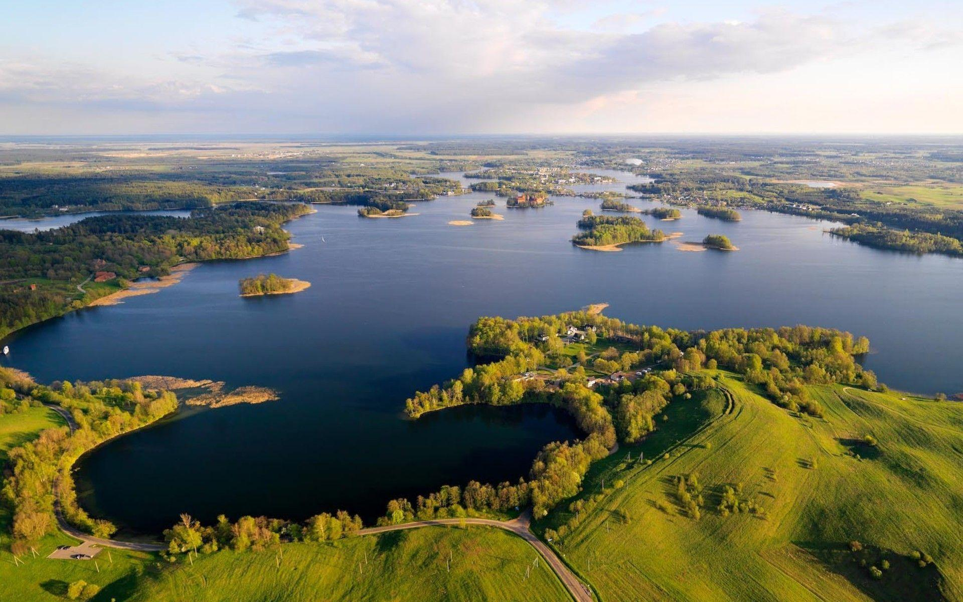 Landscapes nature lithuania baltic states unseen wallpaper ...