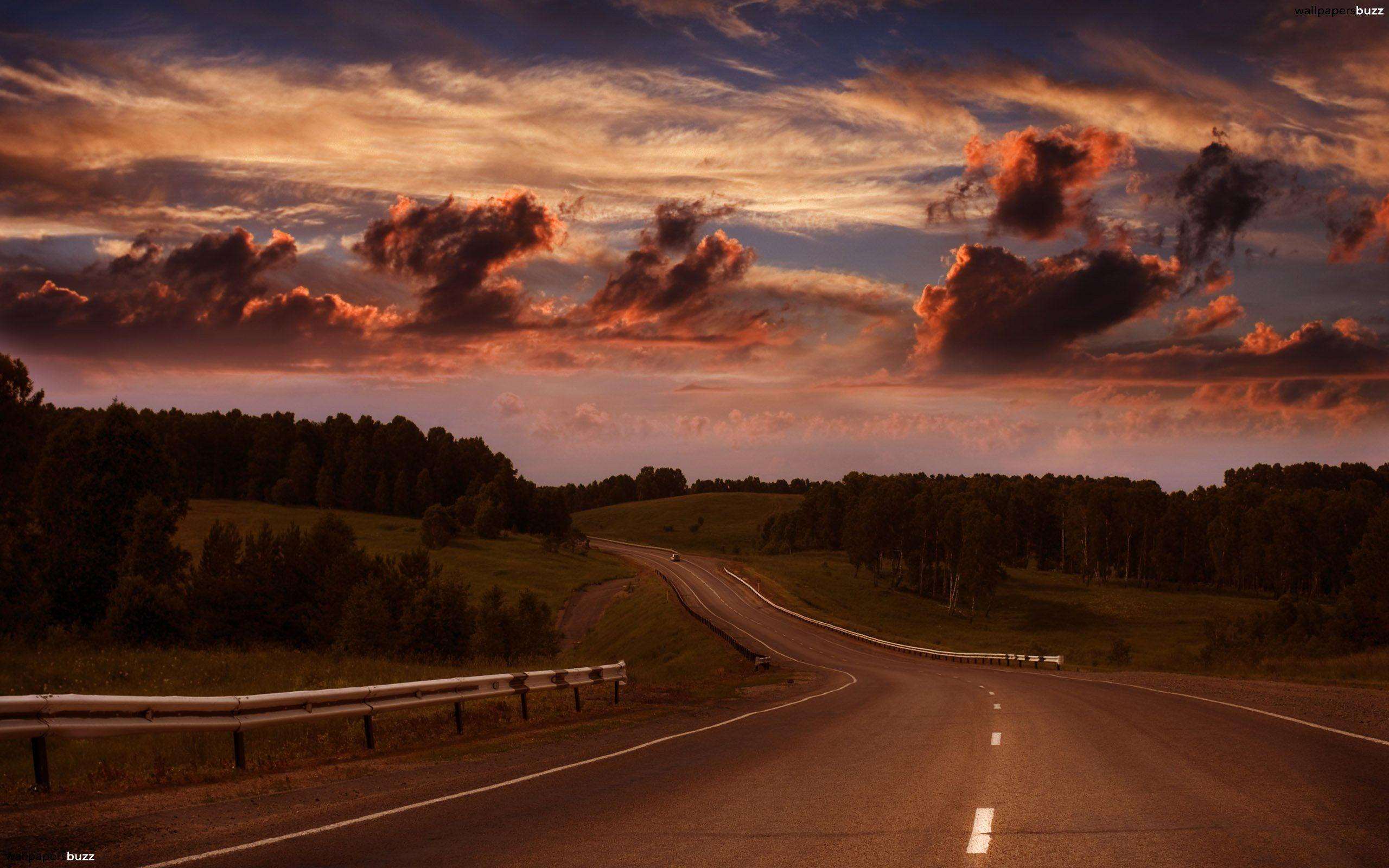 The road HD Wallpapers