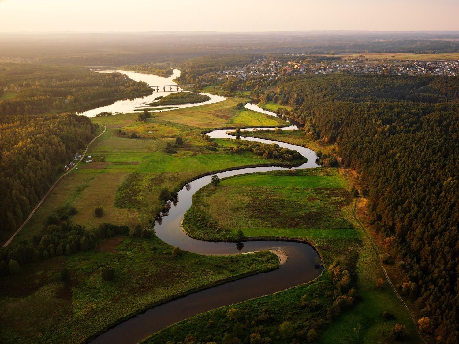 landscapes, nature, Lithuania, Baltic states, unseen lithuania ...