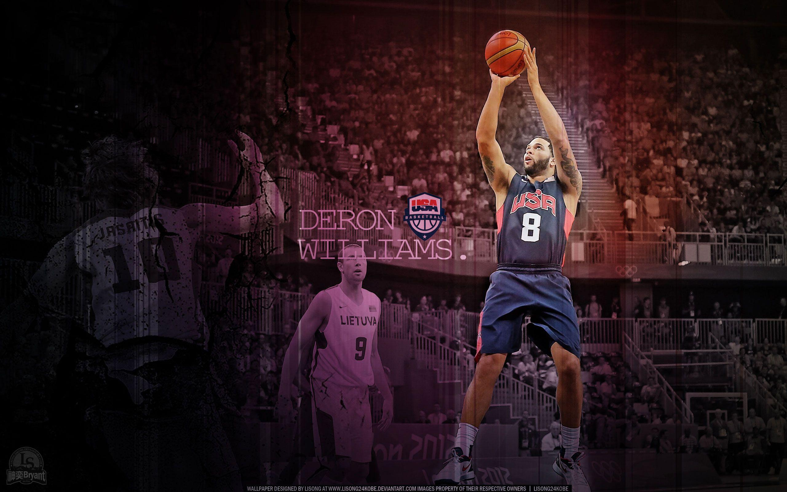 Deron Williams Olympics 2012 vs Lithuania 2560×1600 Wallpaper ...