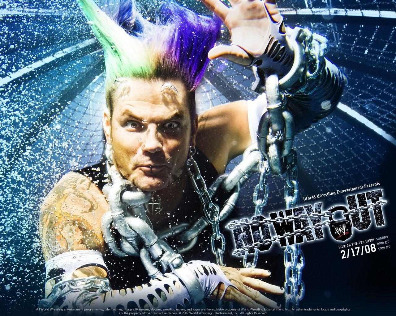 No Way Out 2008 WWE PPV with Jeff Hardy