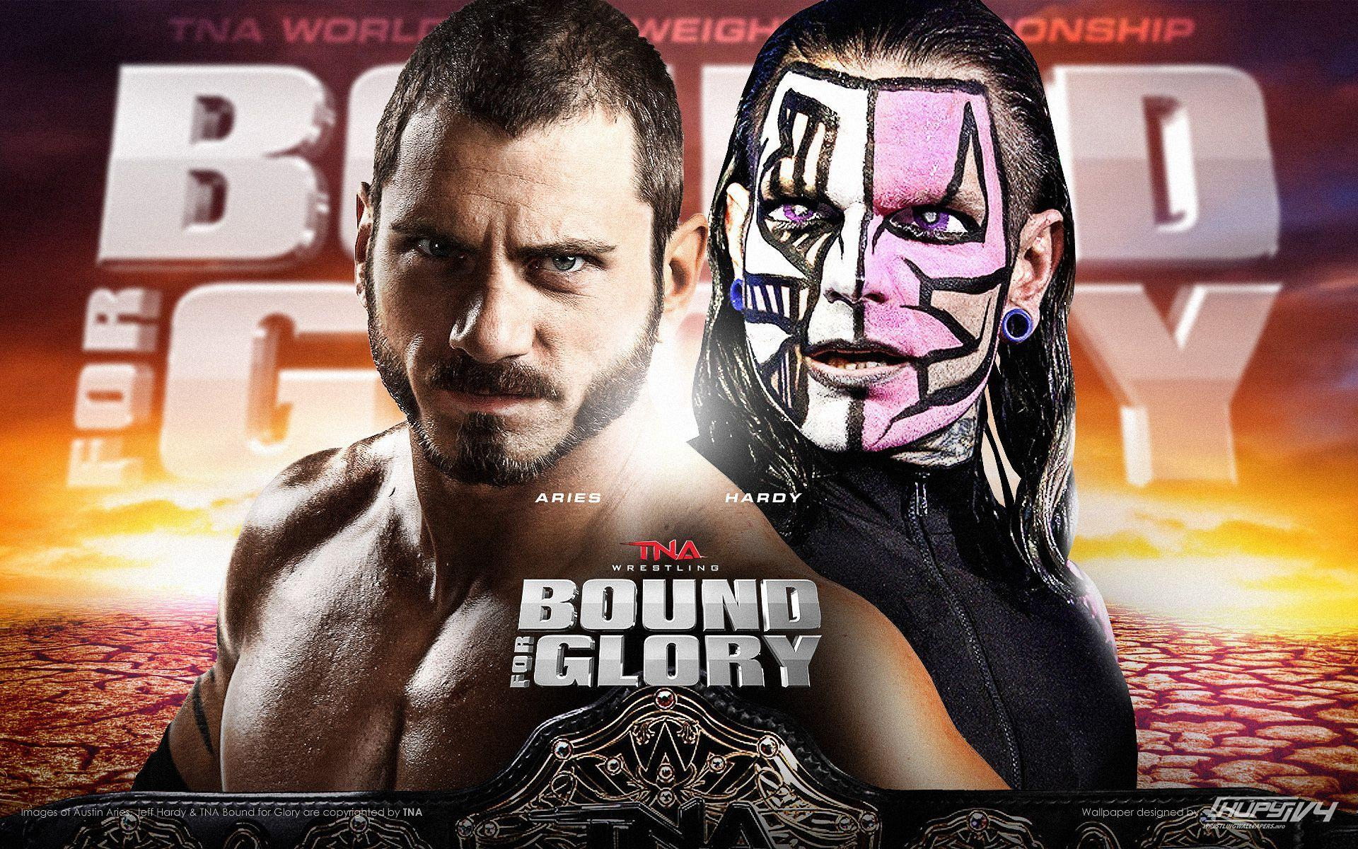 Wresteling wwe tna AUSTIN ARIES JEFF HARDY poster posters