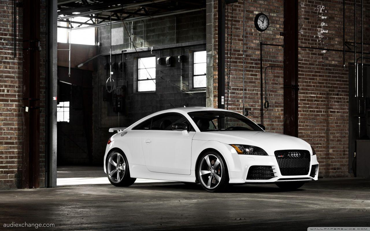 2012 White Audi TT-RS Coupe in warehouse - Audi Exchange ...