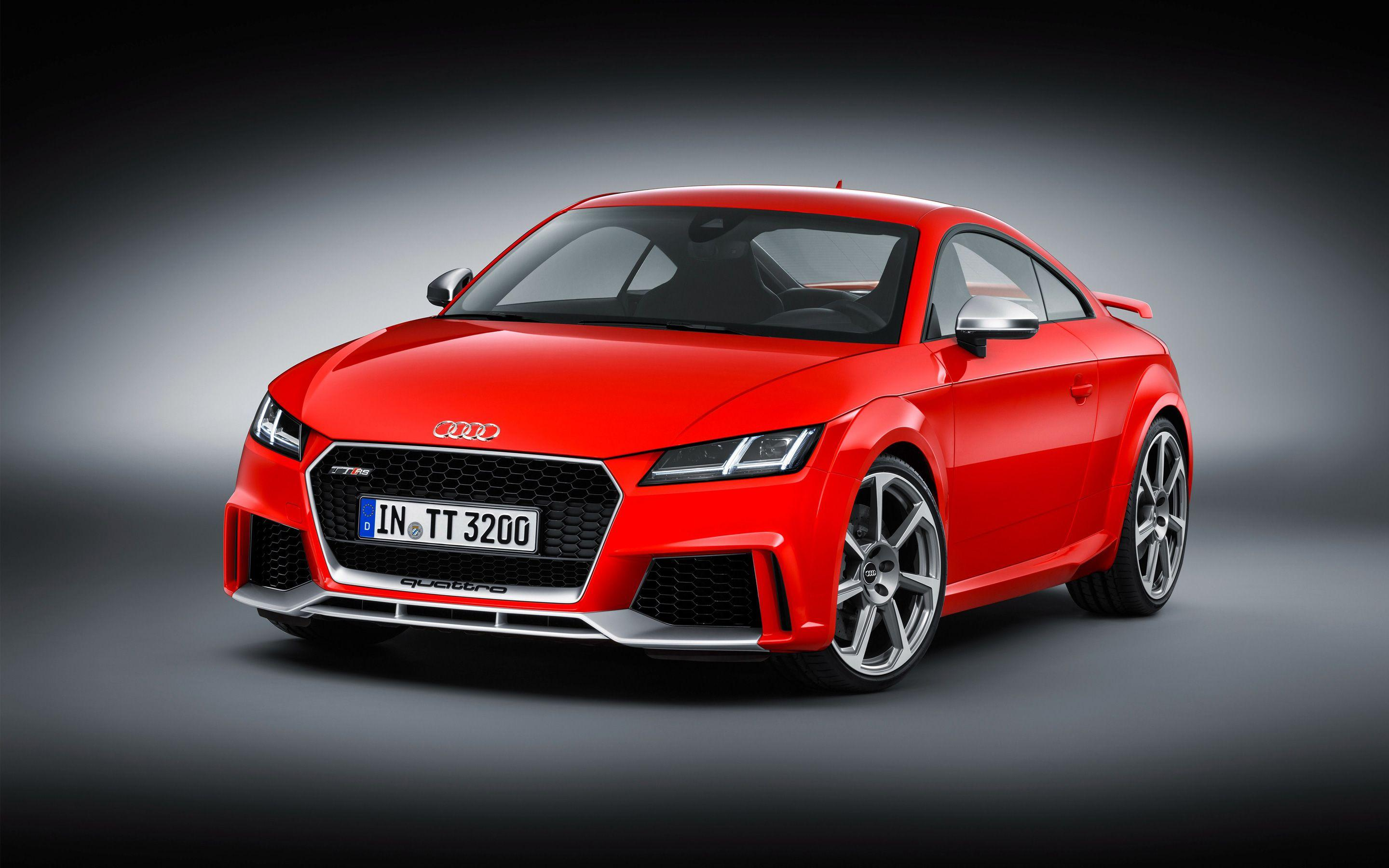 2017 Audi TT RS Coupe Wallpapers | HD Wallpapers