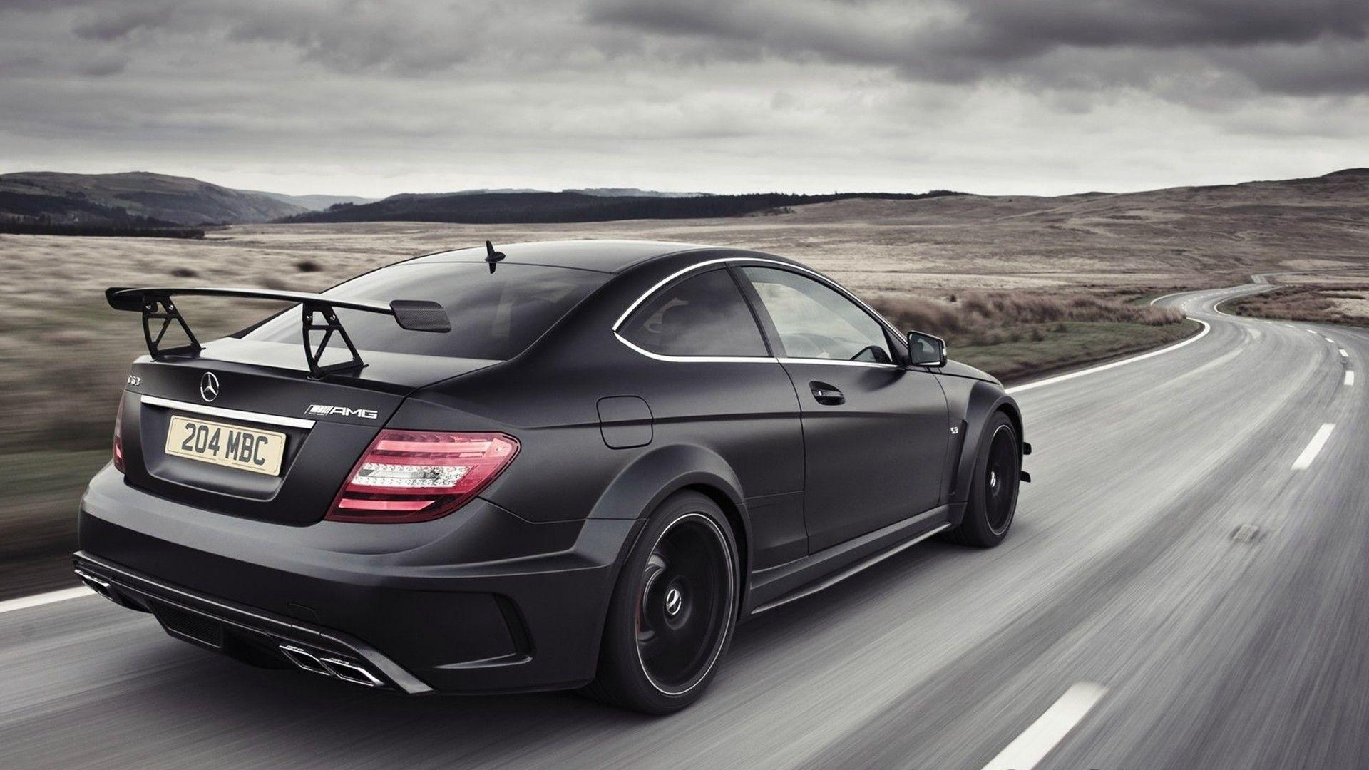 Download Mercedes Benz C63 Amg Coupe Wallpaper PNG