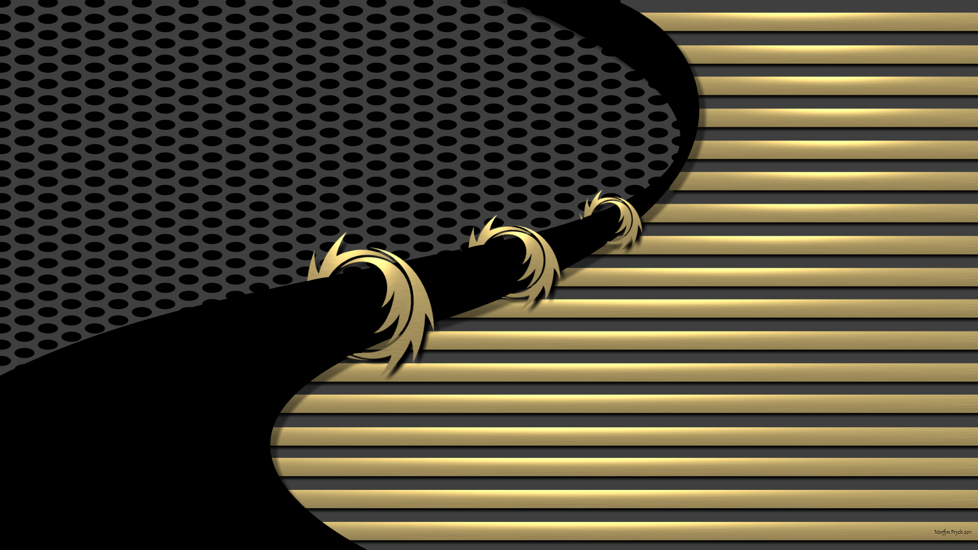 Black And Gold Chevron Wallpaper 4 Cool