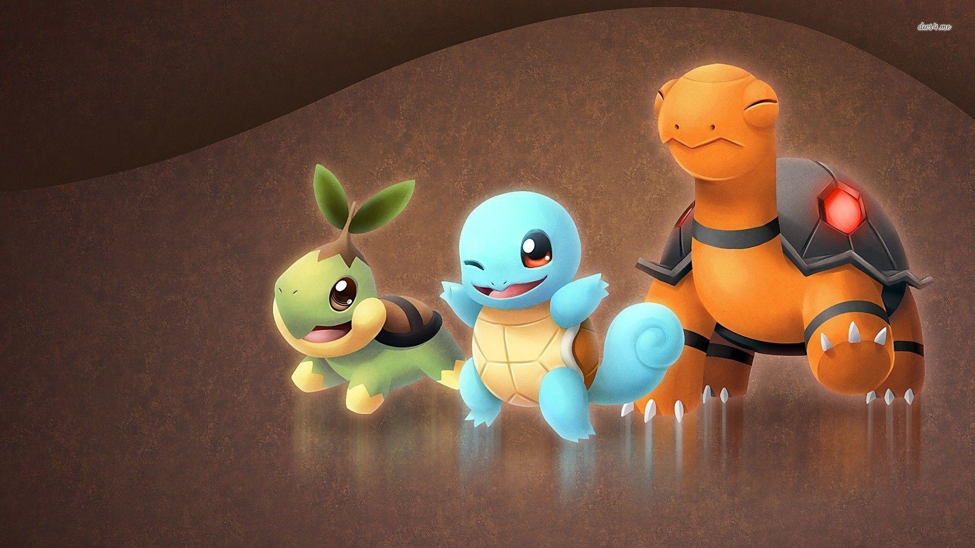 Torkoal, Squirtle, Turtwig - Pokemon wallpaper - Anime wallpapers ...