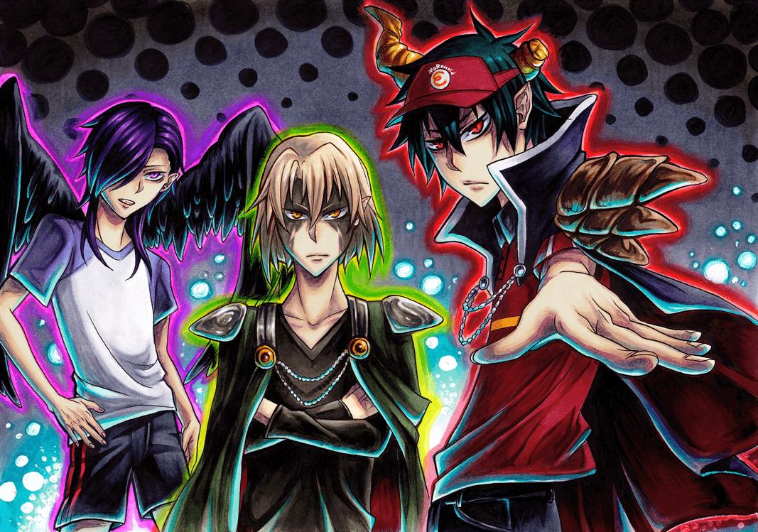 Anime Lucifer Wallpaper