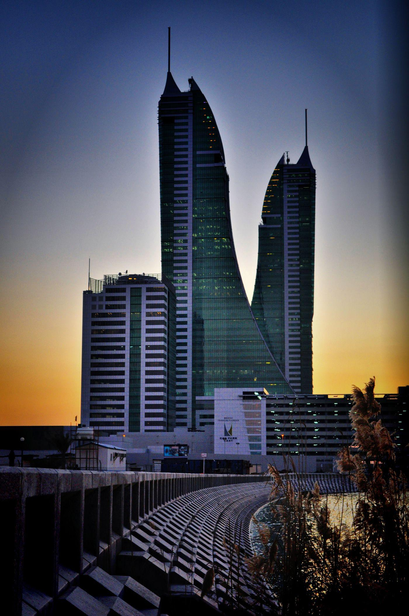 bahrain skyscrapers | HD Windows Wallpapers