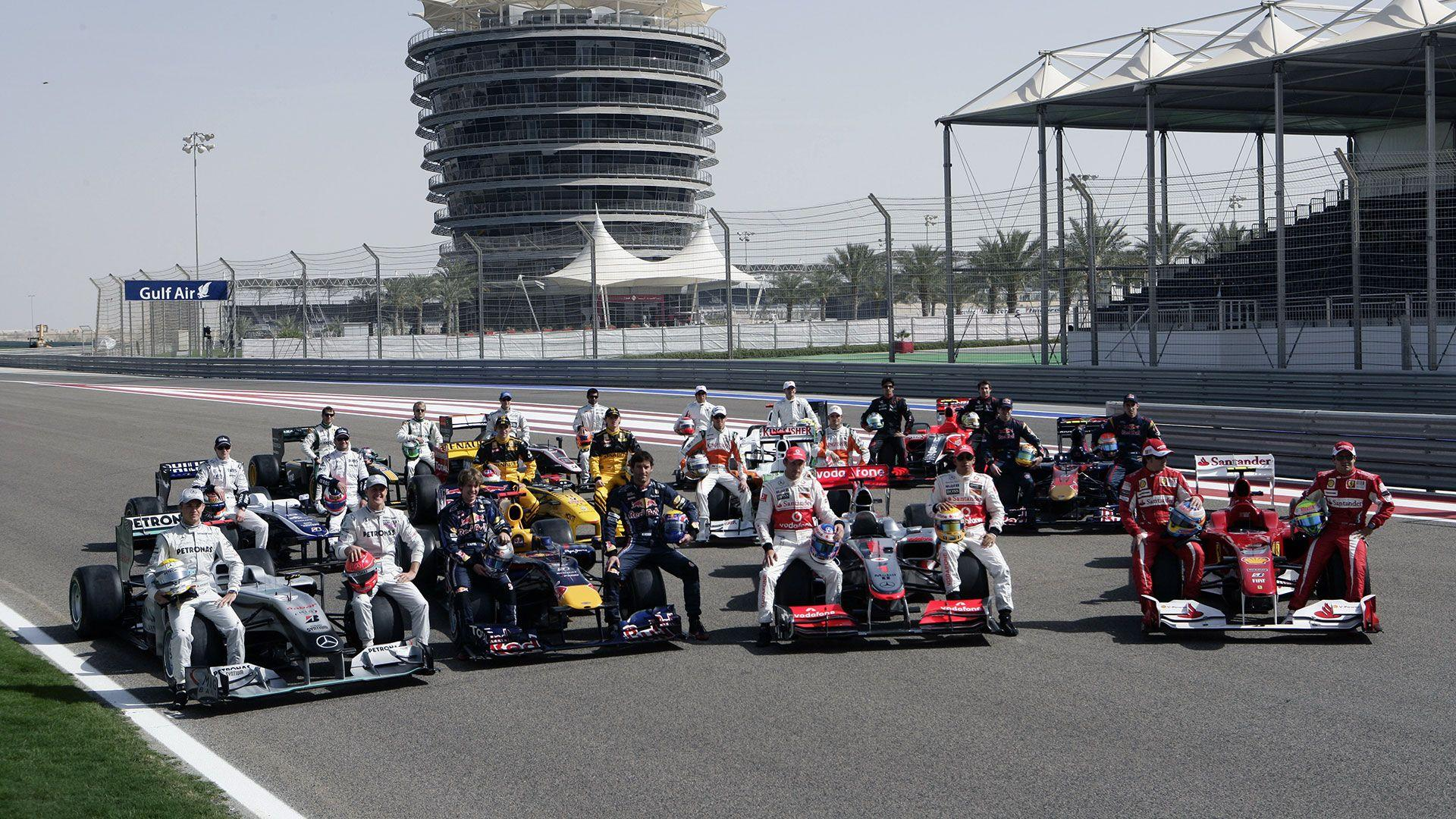 HD Wallpapers 2010 Formula 1 Grand Prix of Bahrain | F1-Fansite.com