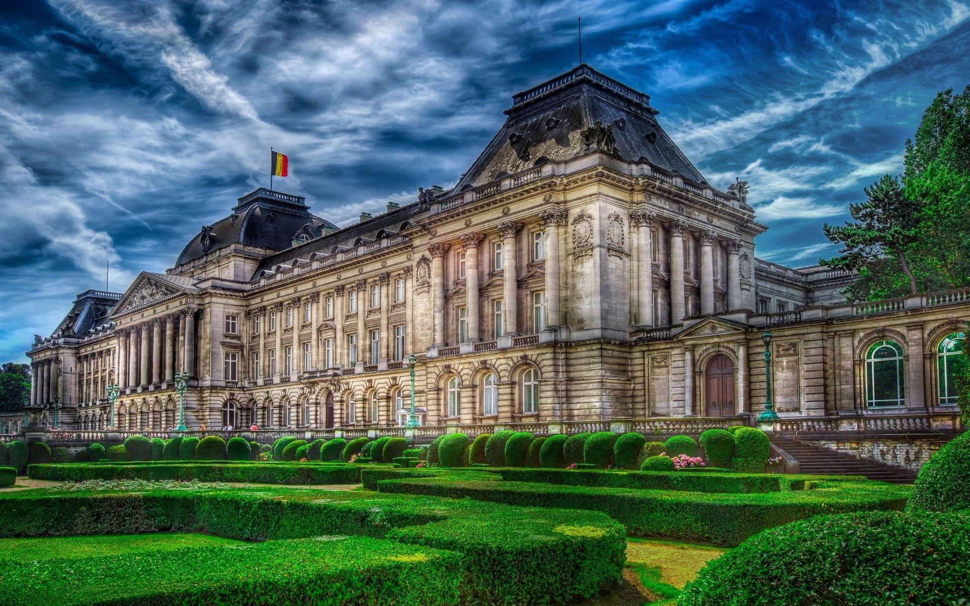 1920x1200 Wallpapers for Desktop: royal palace of brussels