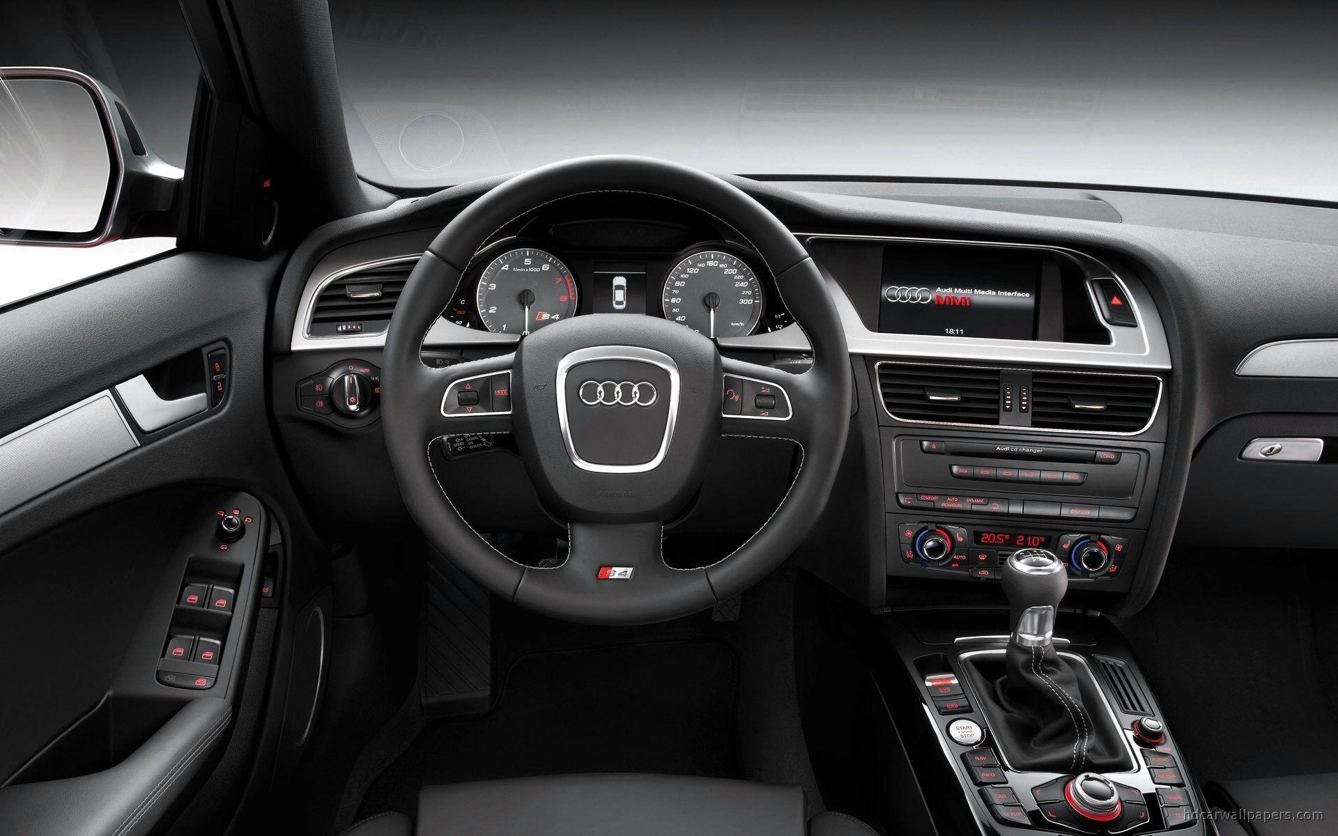 2009 Audi S4 Interior Wallpapers