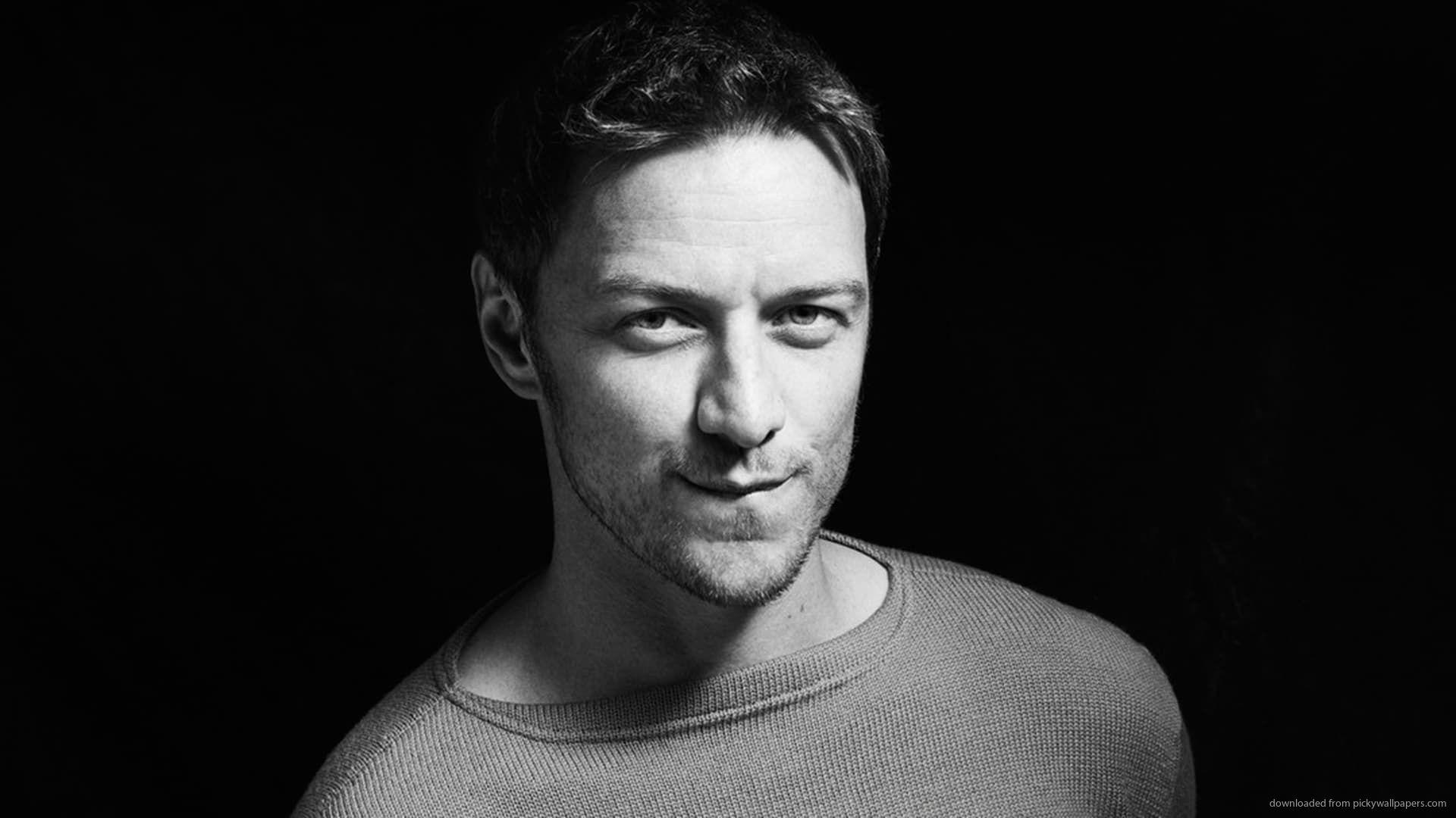 1920x1080 Monochrome James Mcavoy Desktop Wallpapers Wallpapers