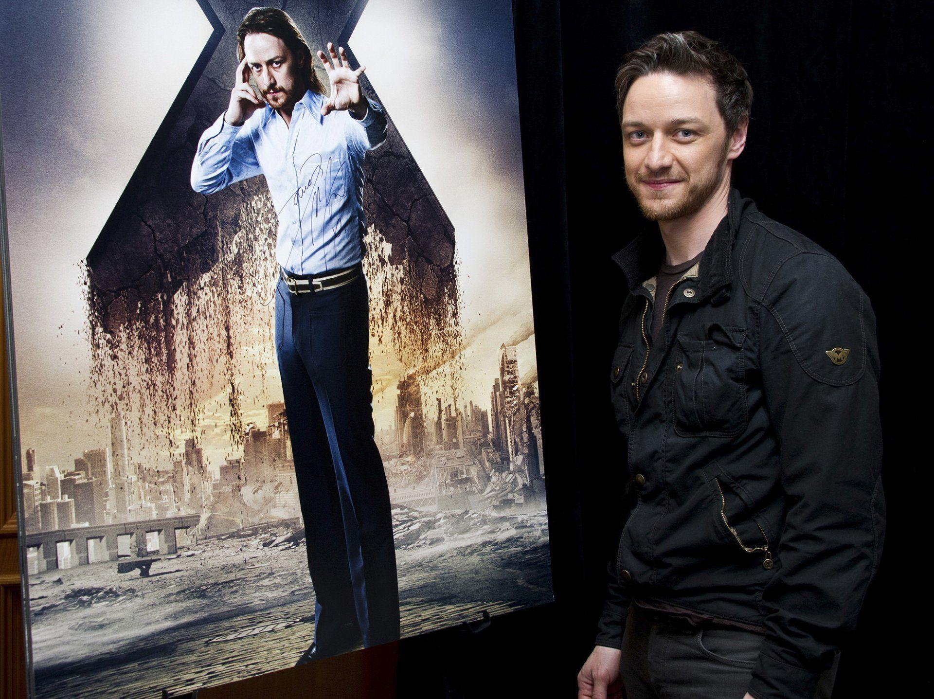 james mcavoy press conference x