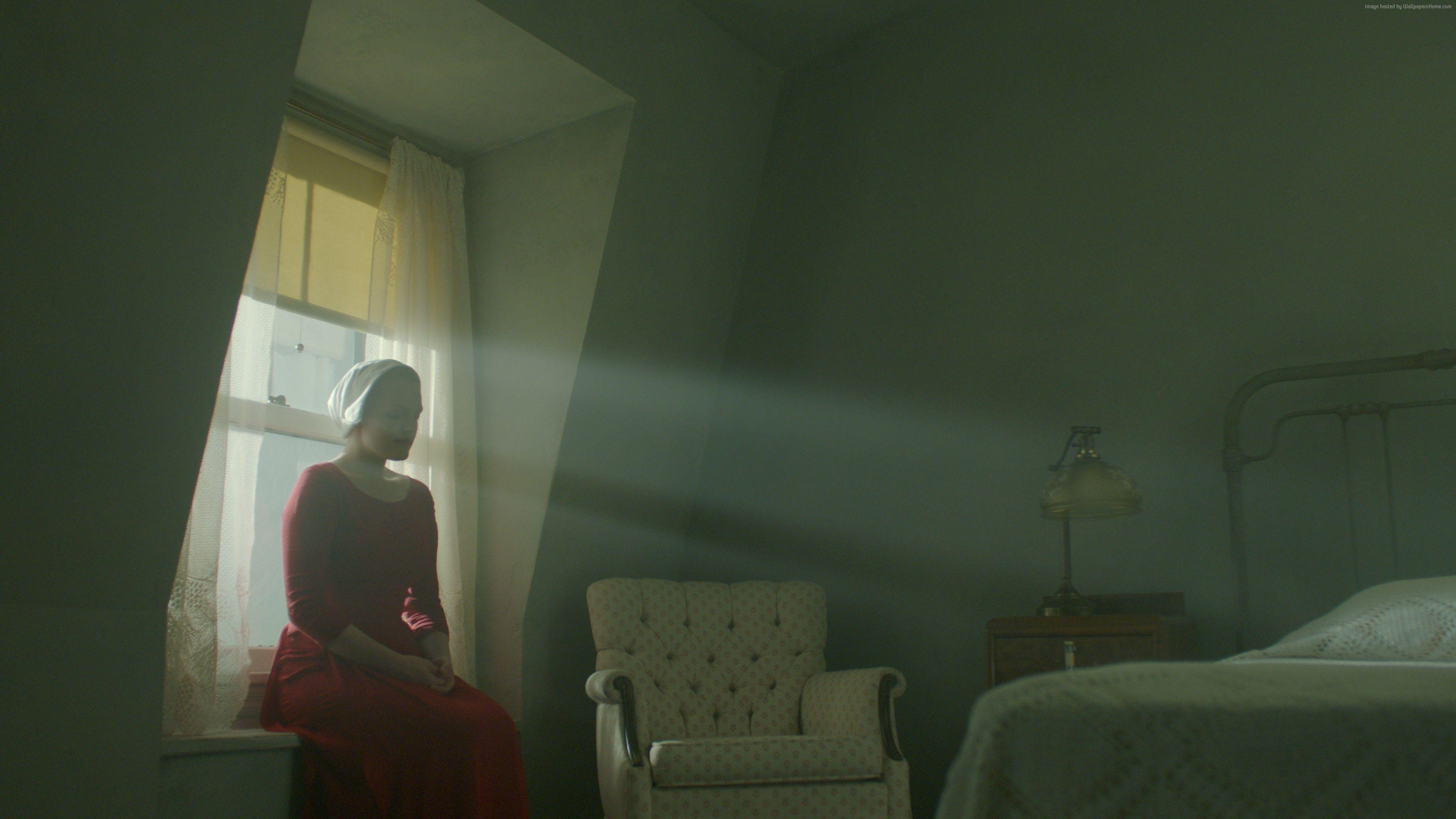 Wallpaper The Handmaid's Tale, Elisabeth Moss, best tv series ...