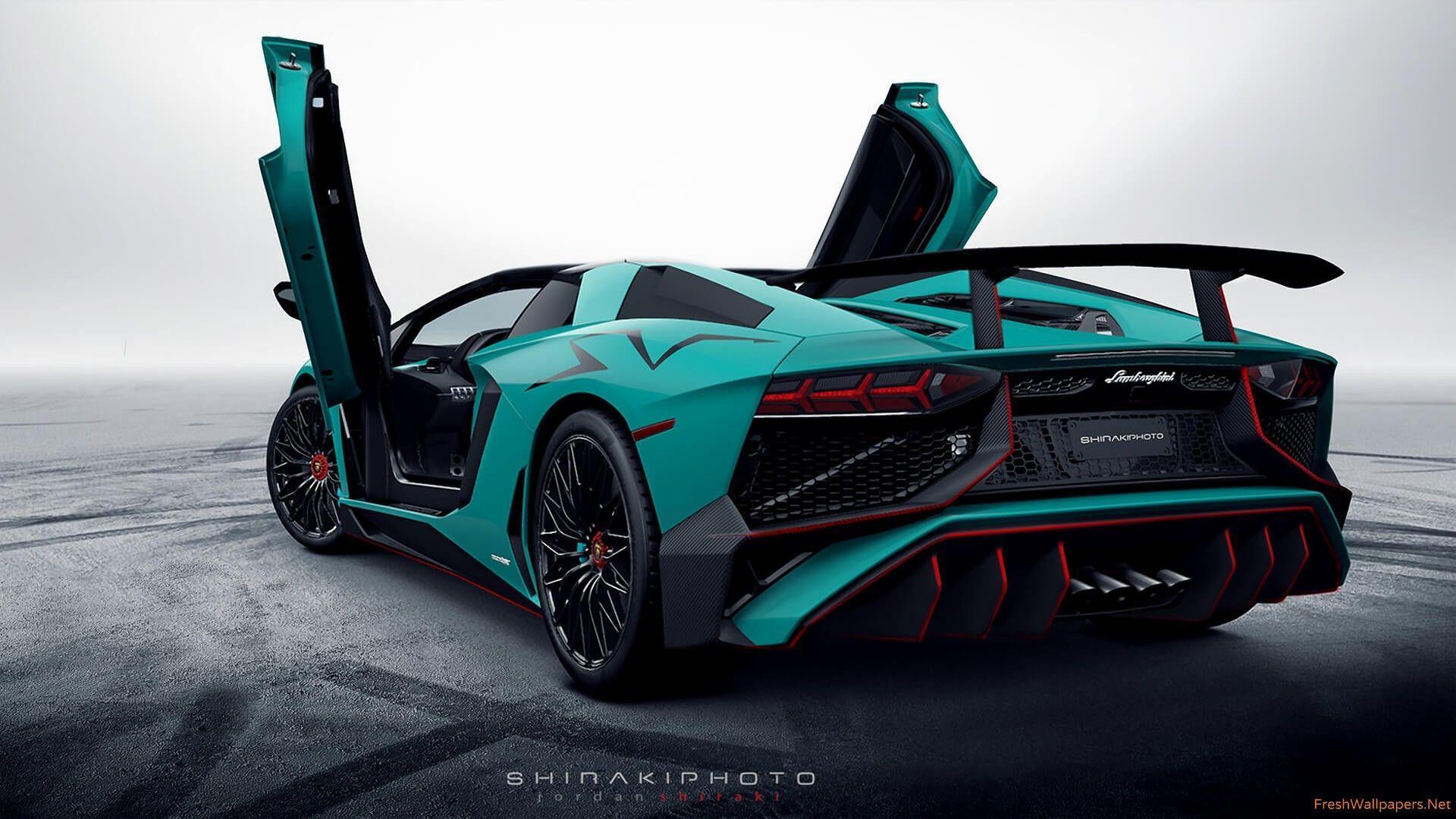 Lamborghini Aventador Sv Wallpapers Wallpaper Cave
