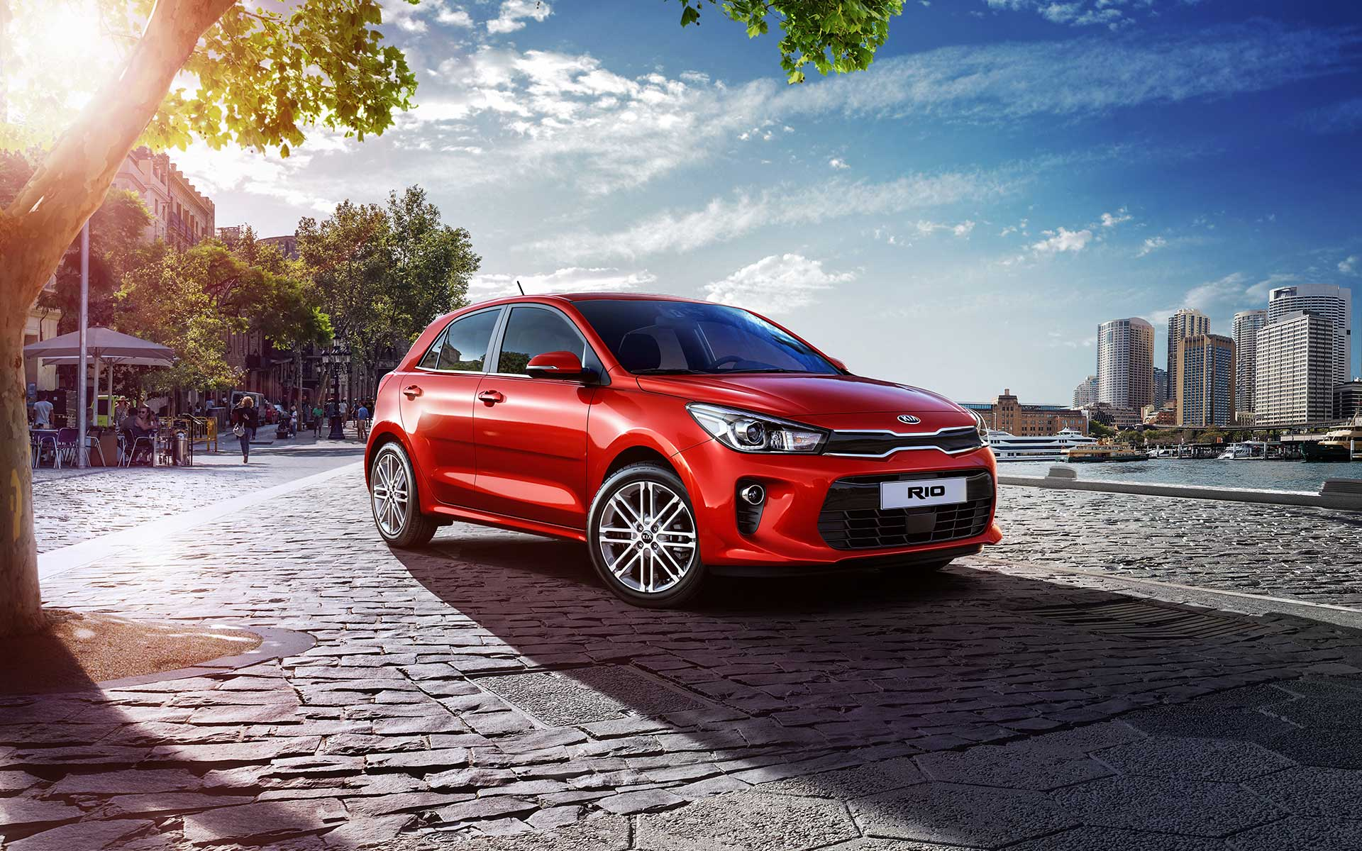 Kia Rio Wallpapers Wallpaper Cave