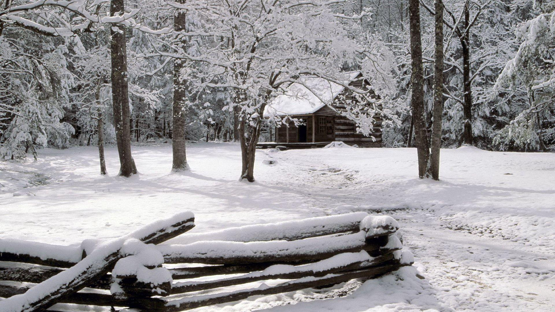 Carter Shields Cabin, Great Smoky Mountains National Park ...