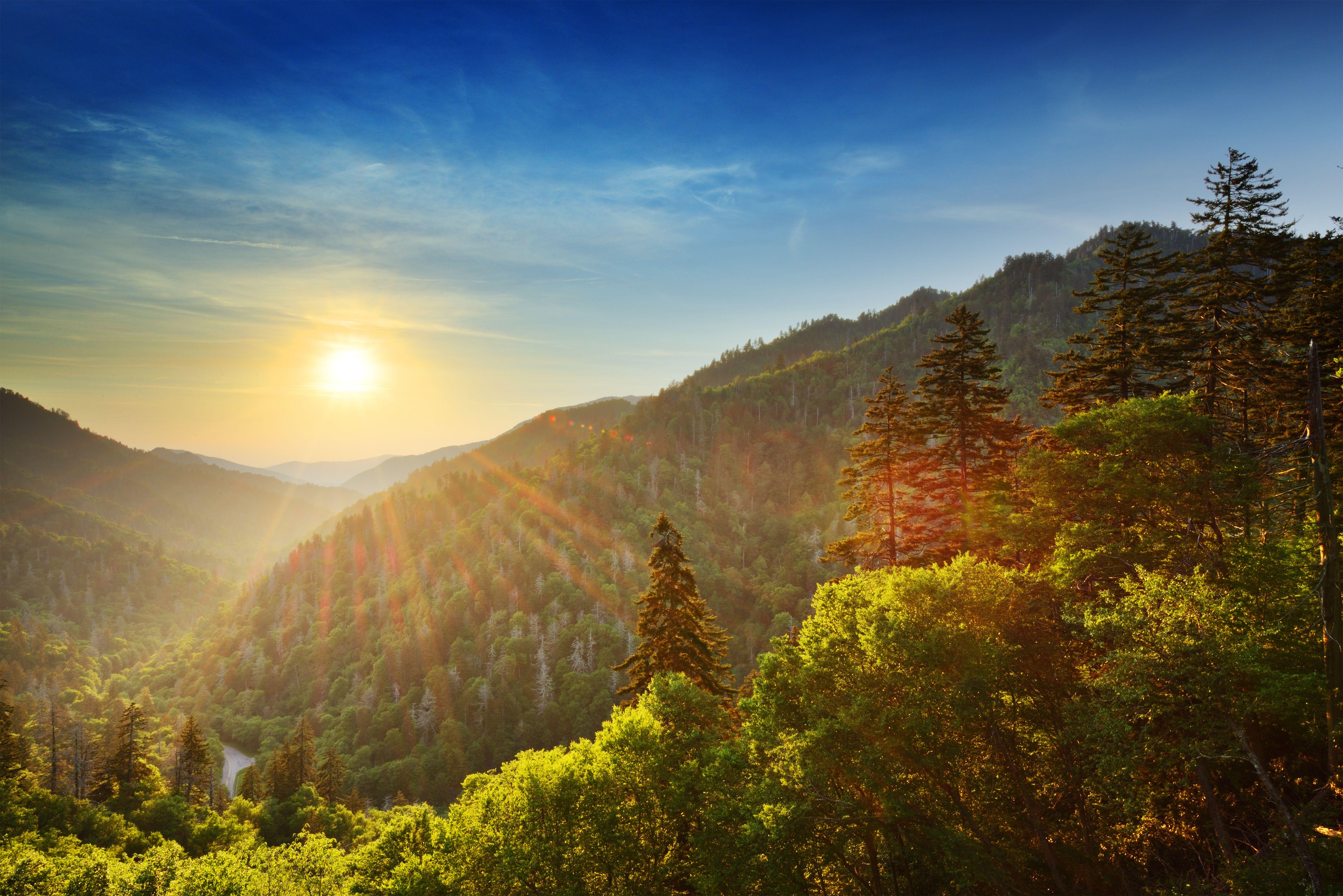 History of the Great Smoky Mountains in Gatlinburg