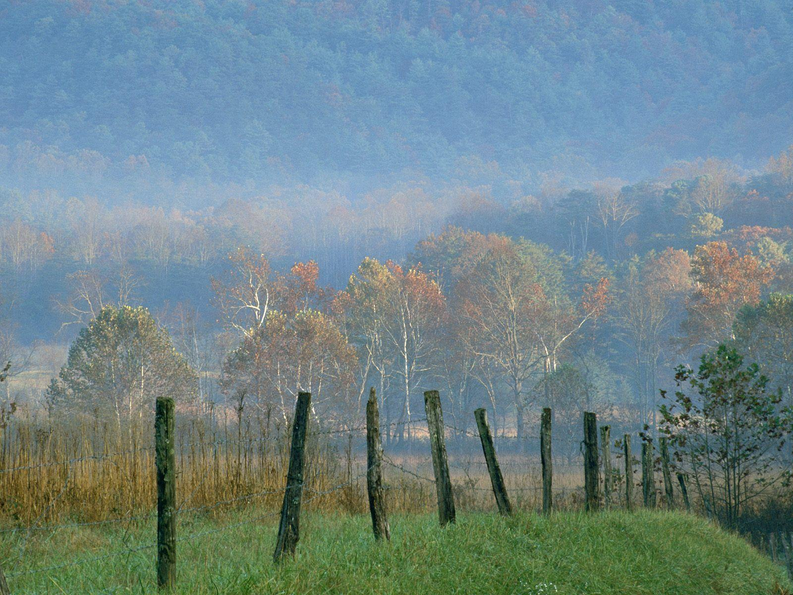 Cades Cove, Great Smoky Mountains National Park, | Nature Desktop ...