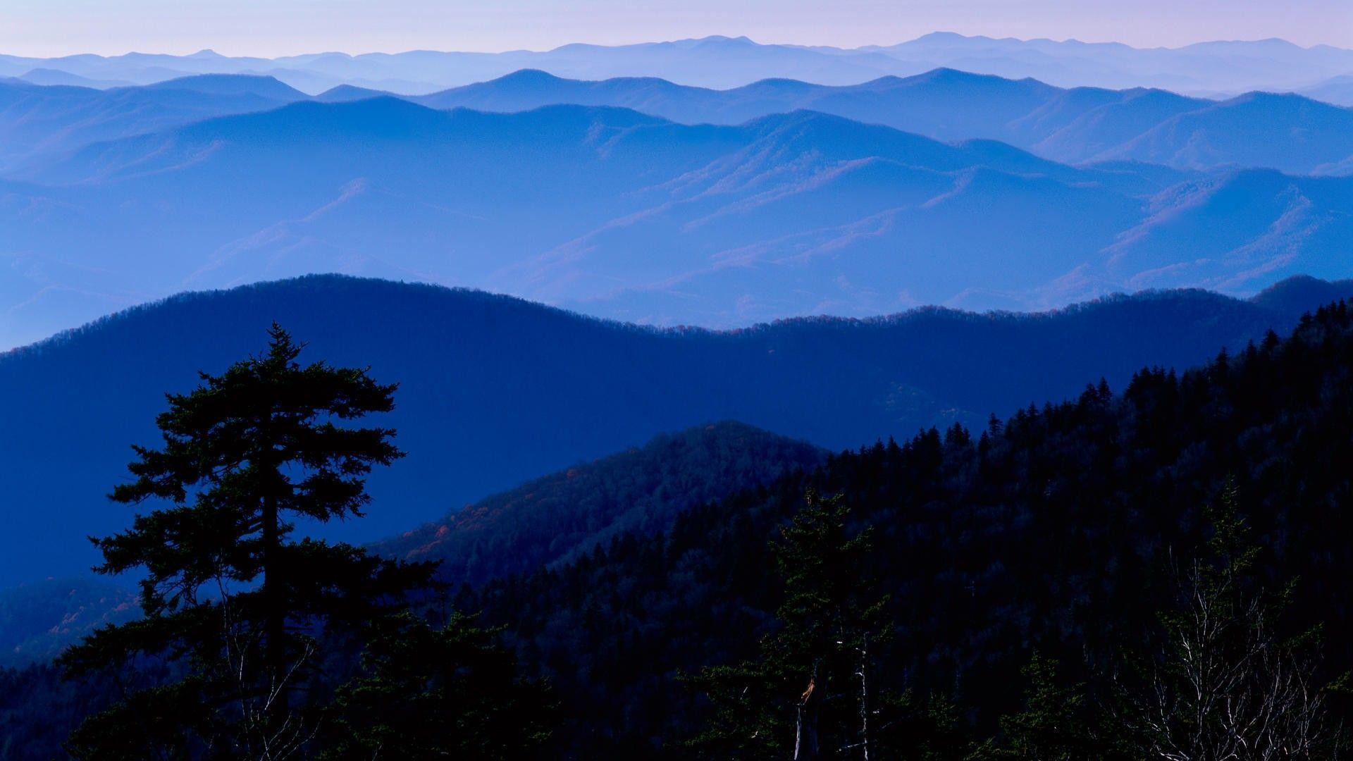 Mountain: Park National Blue Mountains Great Smokey Mist Tennessee ...