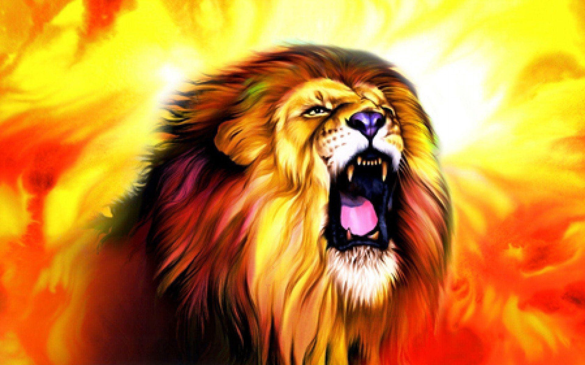 Roaring Lion Wallpapers (40+)