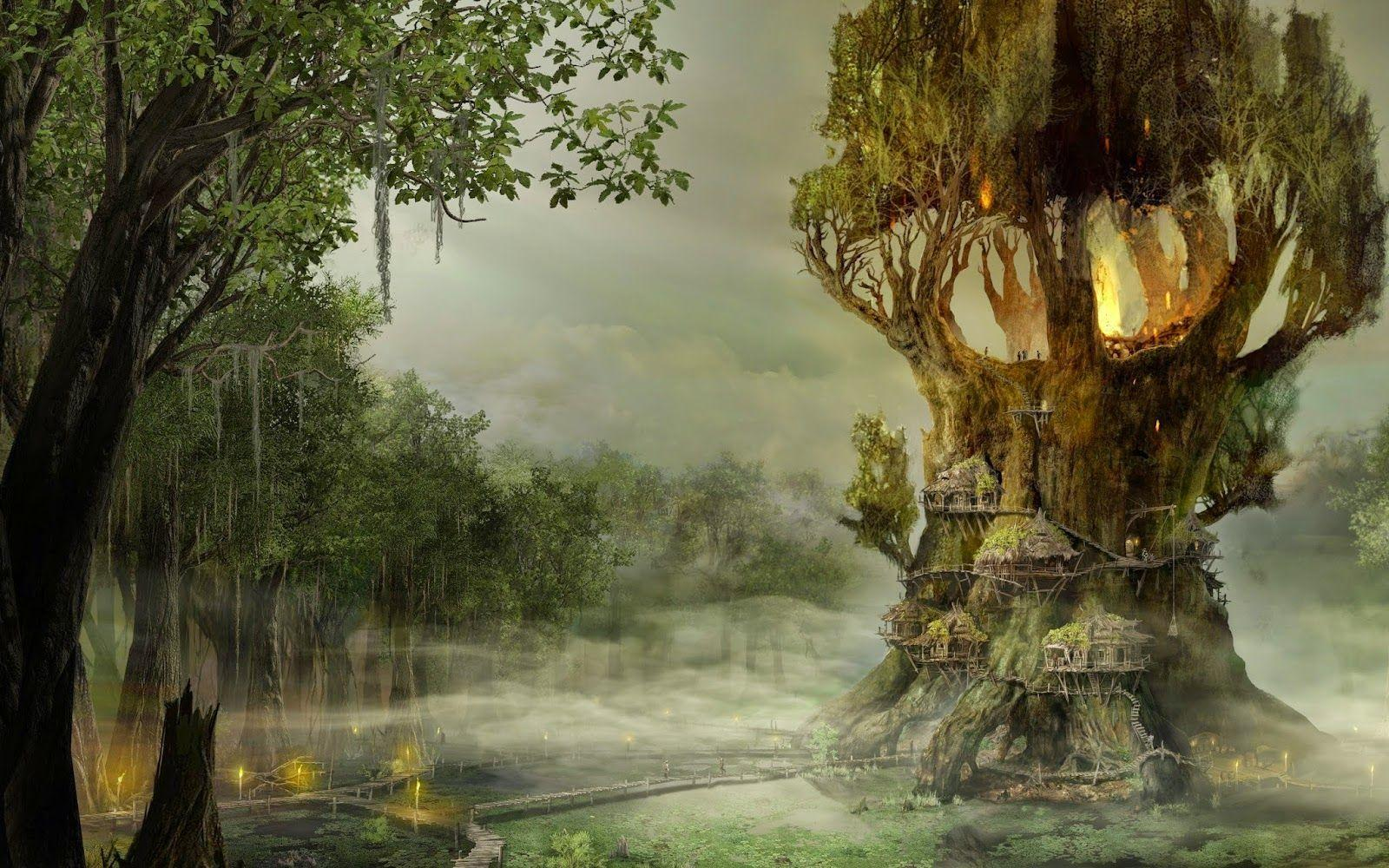 Tree House Wallpapers Wallpaper Cave