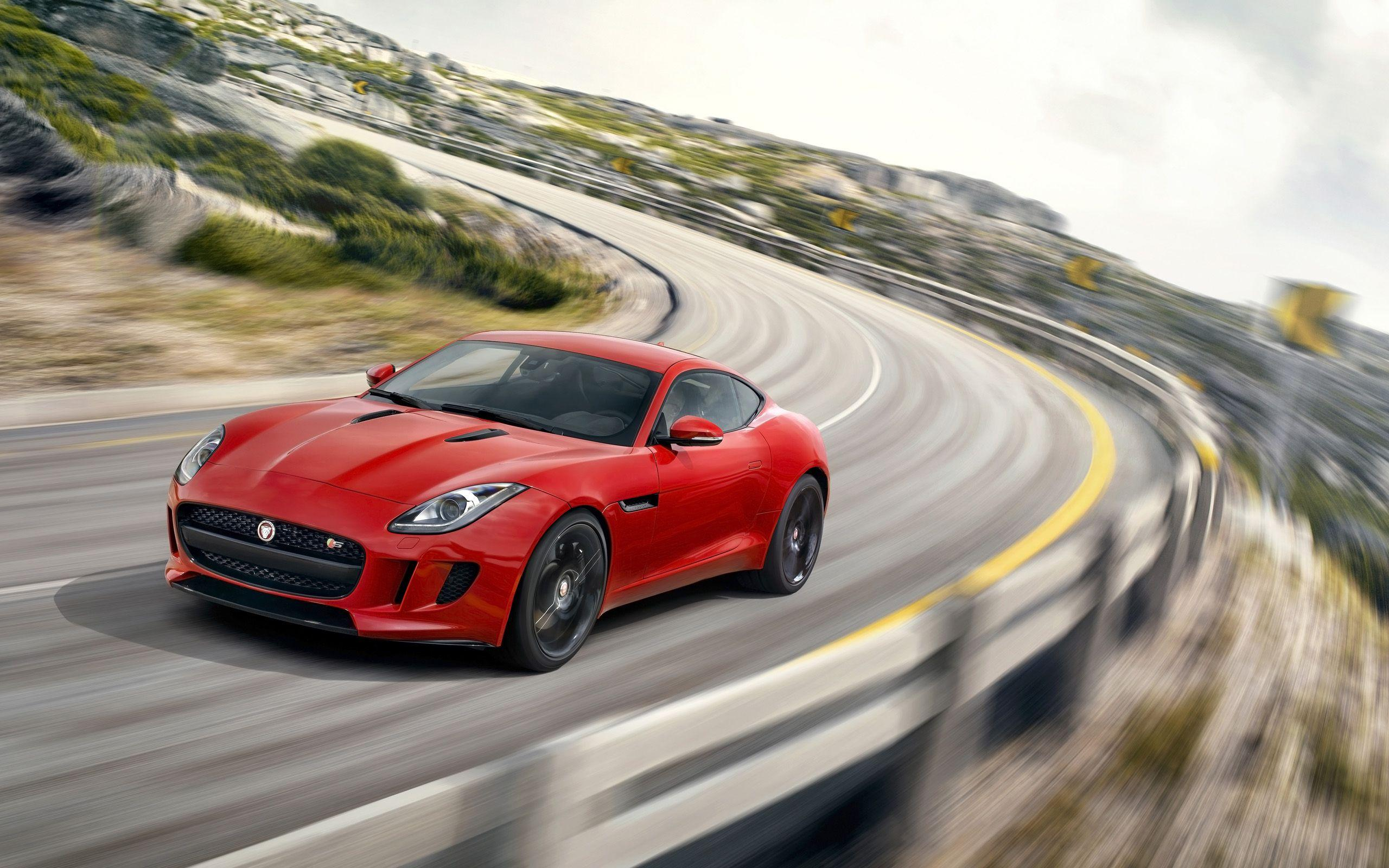 2014 Jaguar F Type R Coupe Salsa Red Wallpapers