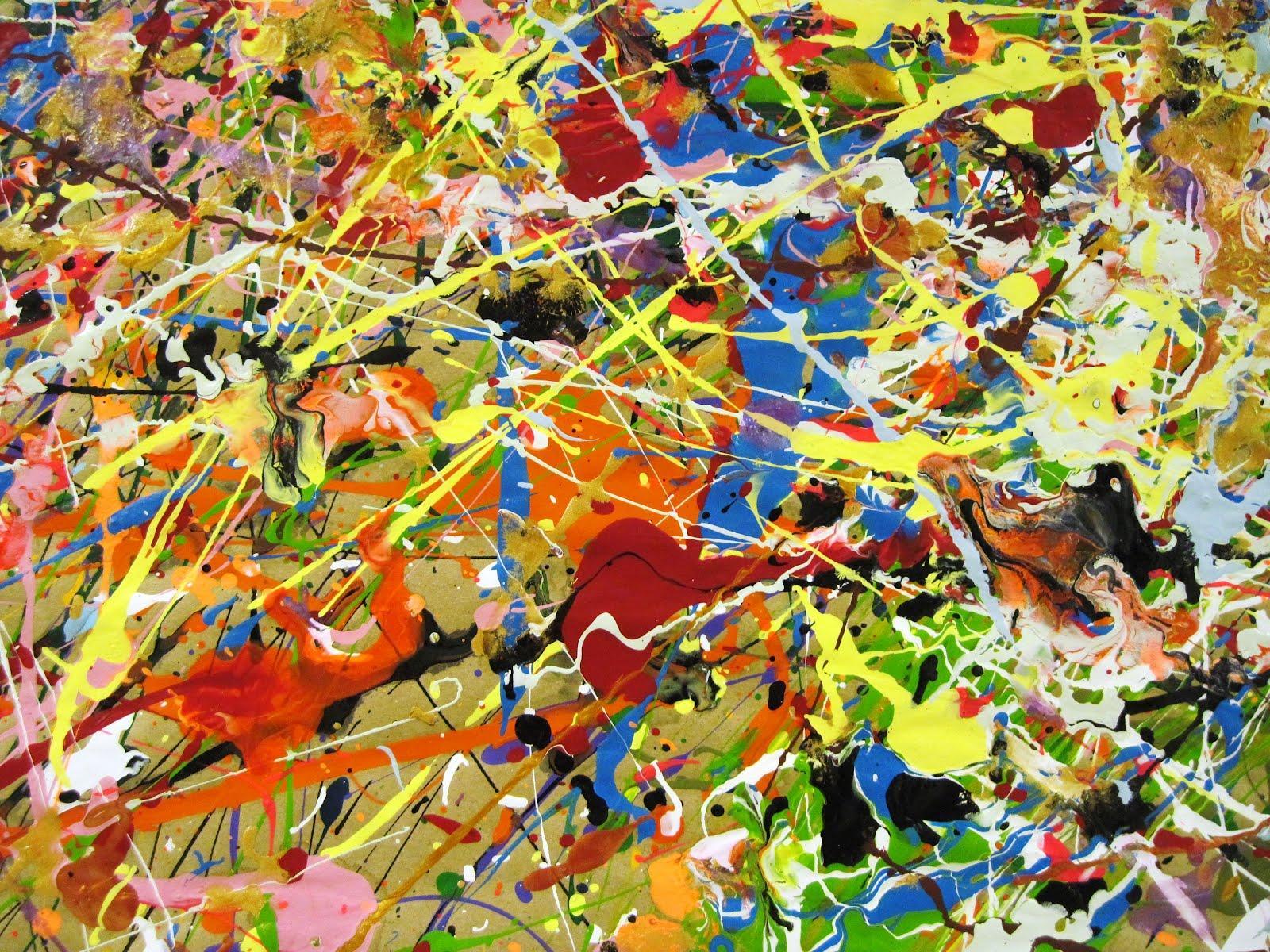 jackson pollock wallpaper - photo #1