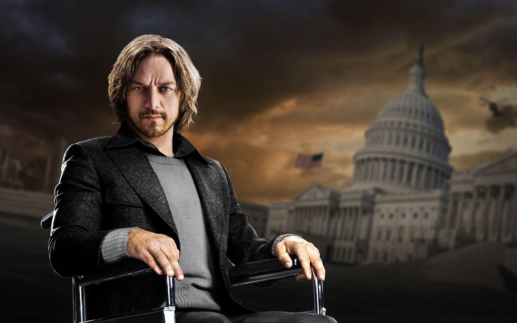 Young Professor Xavier Played By James McAvoy Wallpapers and