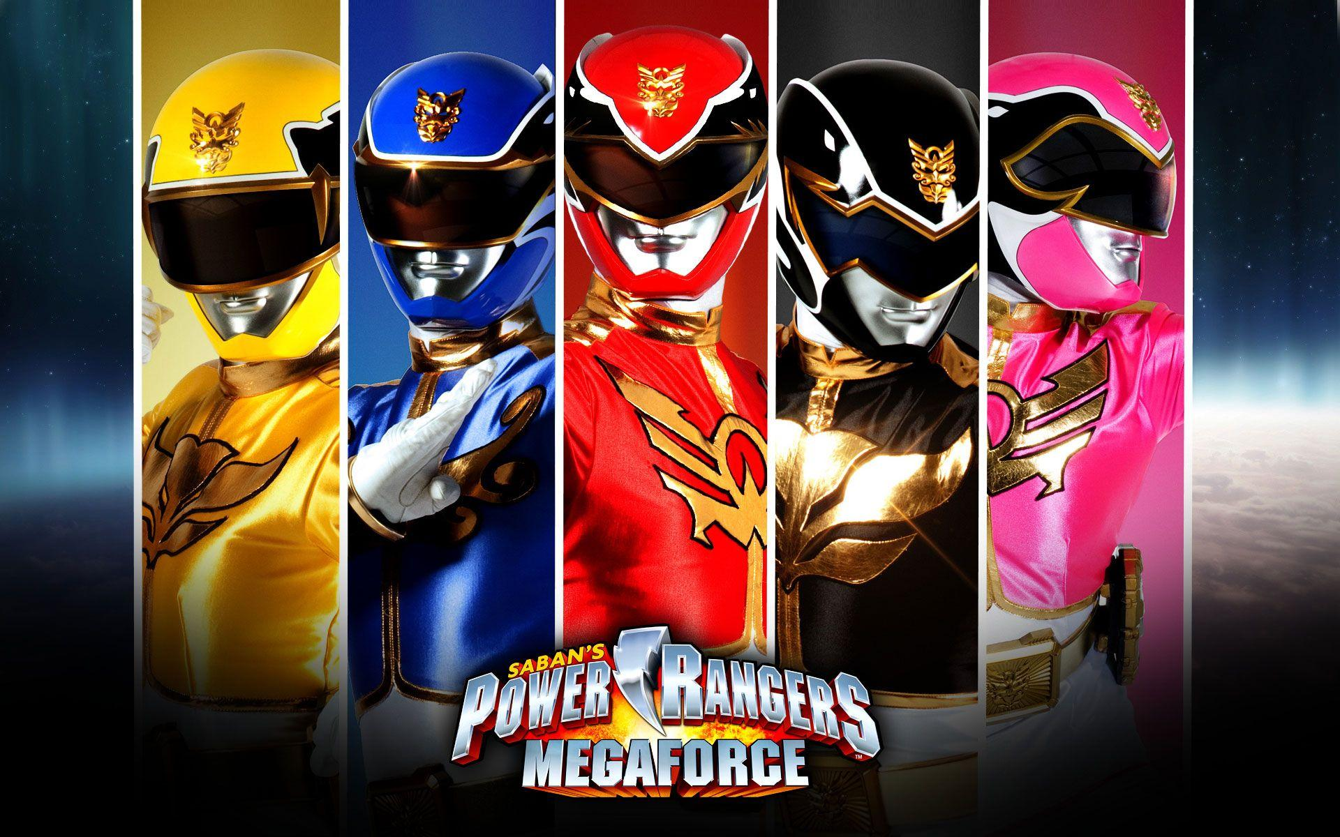 Power Rangers Teams Background 2