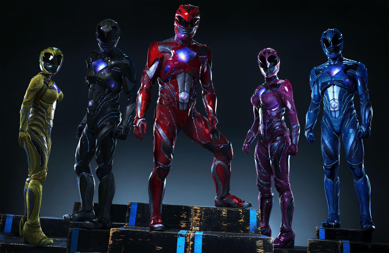 Power Rangers Teams Background 3