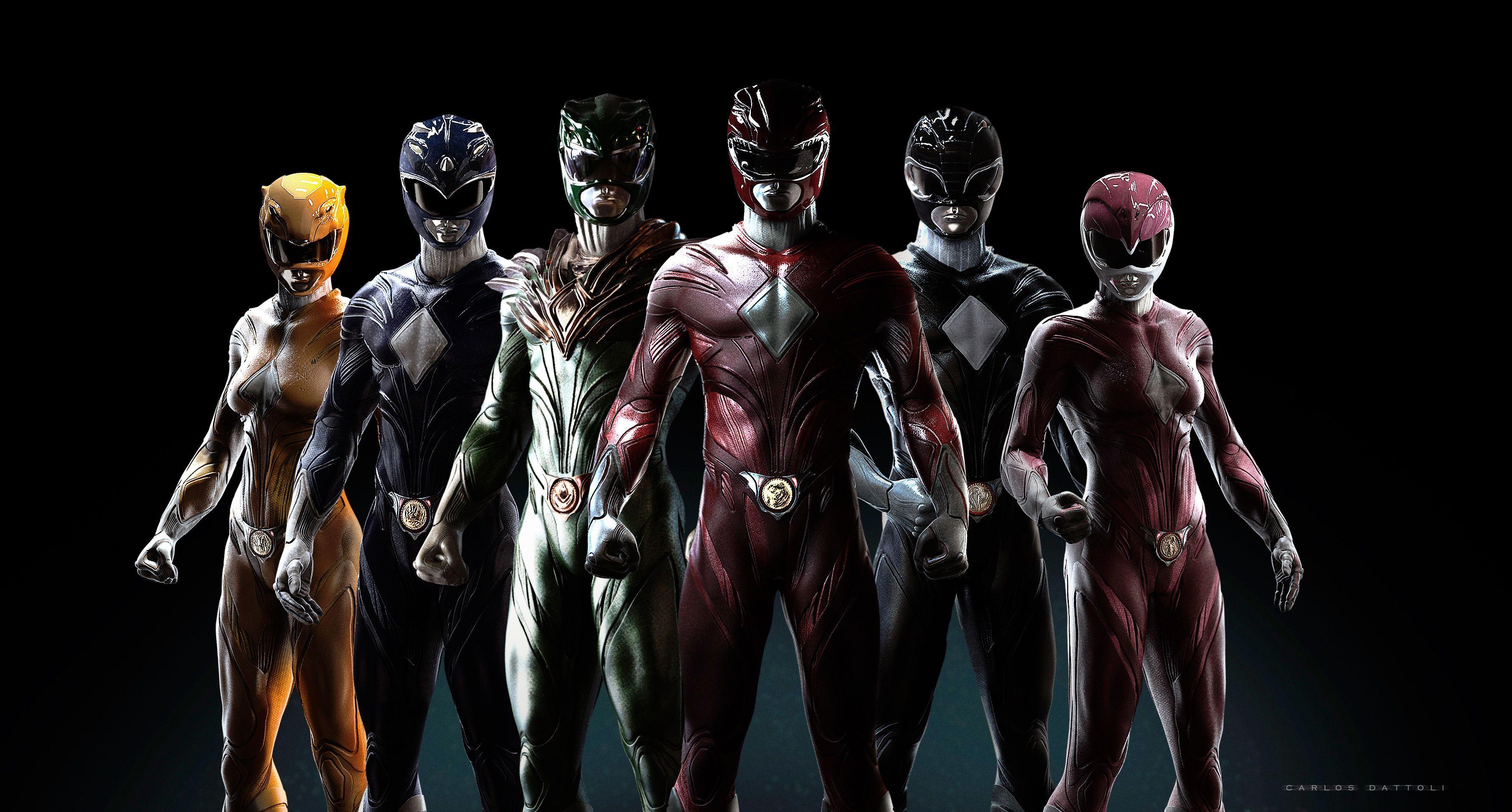 Power Rangers Teams Background 5