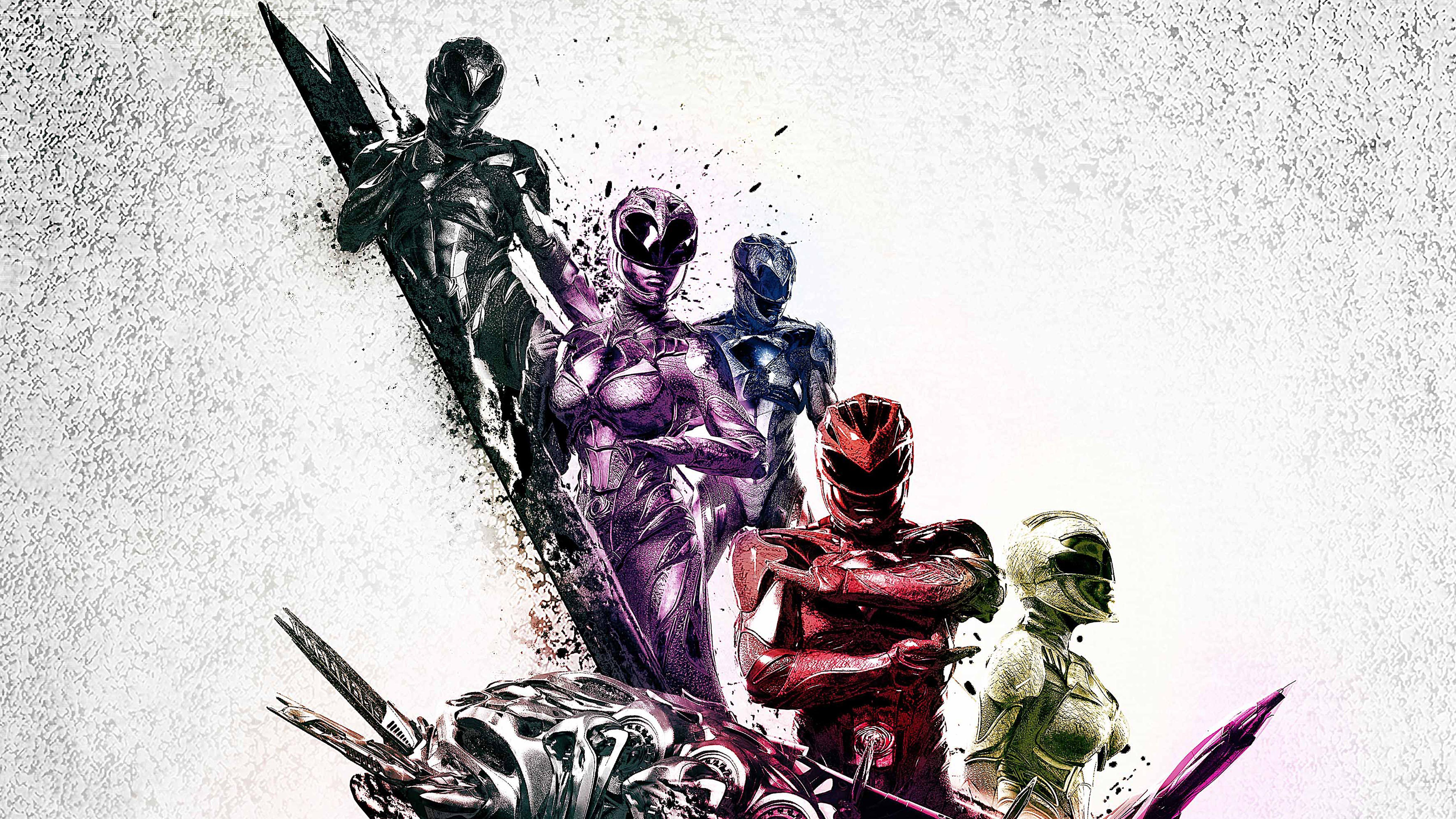 Power Rangers Teams Background 6