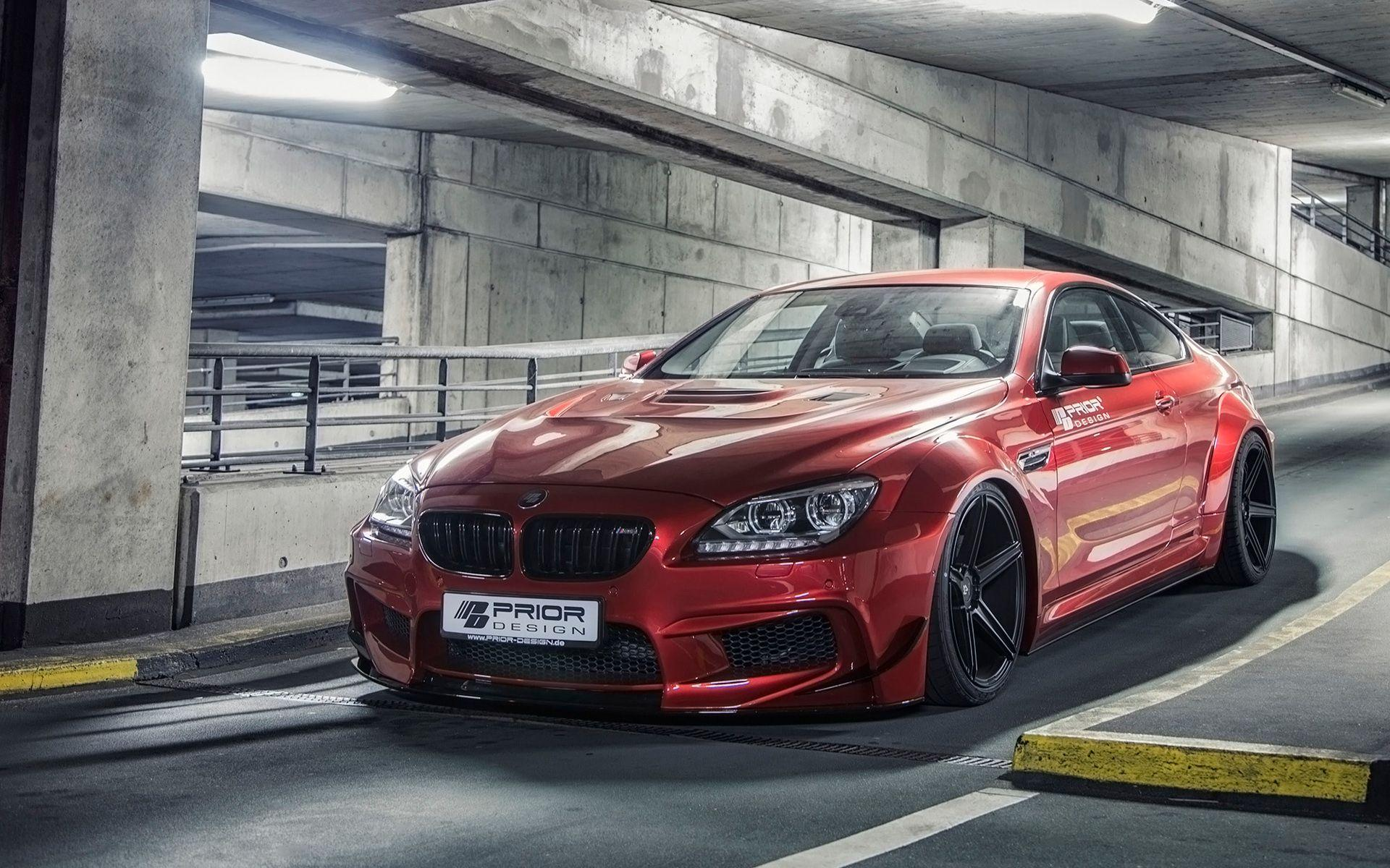 2014 BMW 6 Series By Prior Design Wallpapers