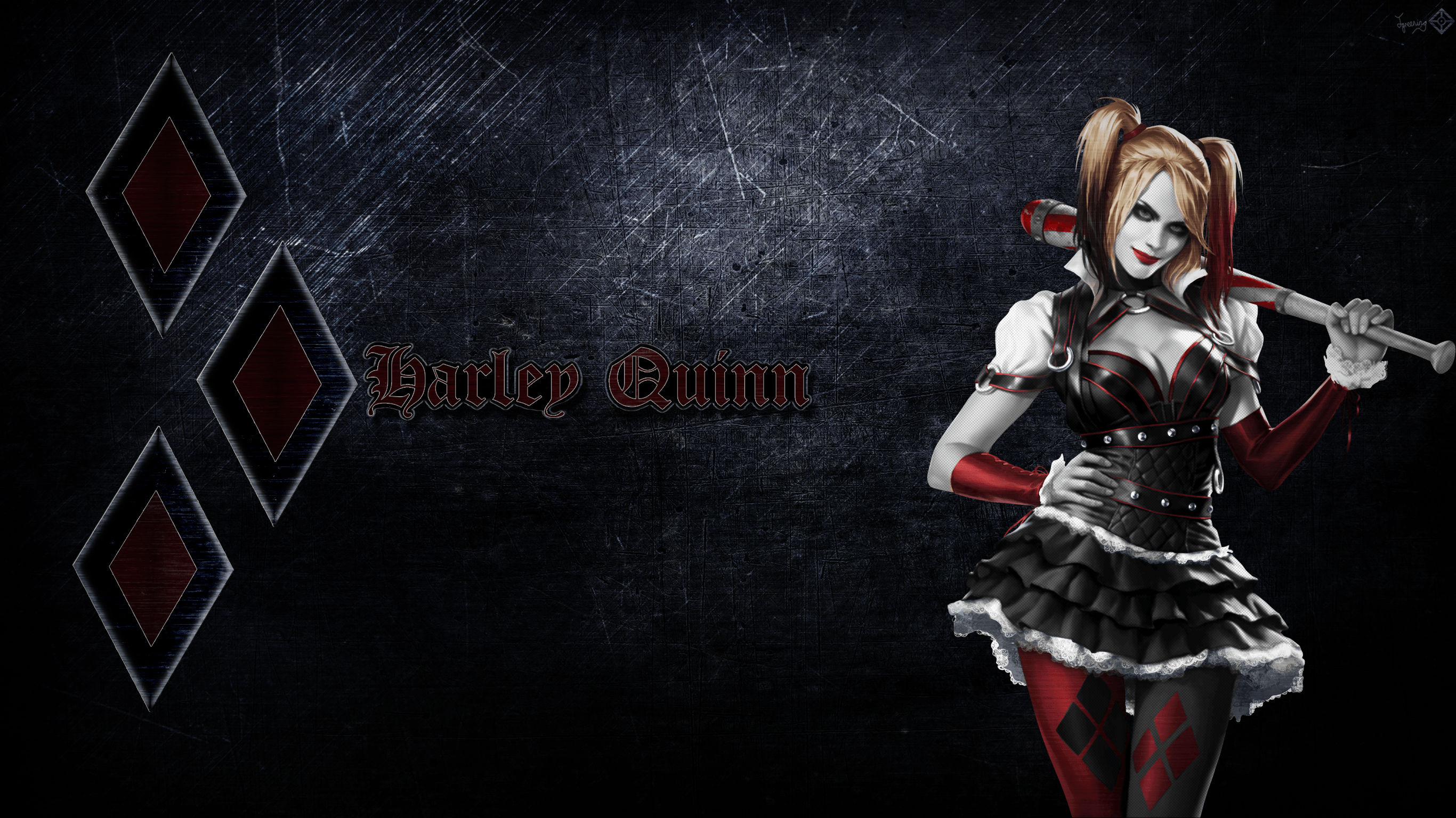 Harley Quinn Wallpaper 1 By JamesG2498 On DeviantArt