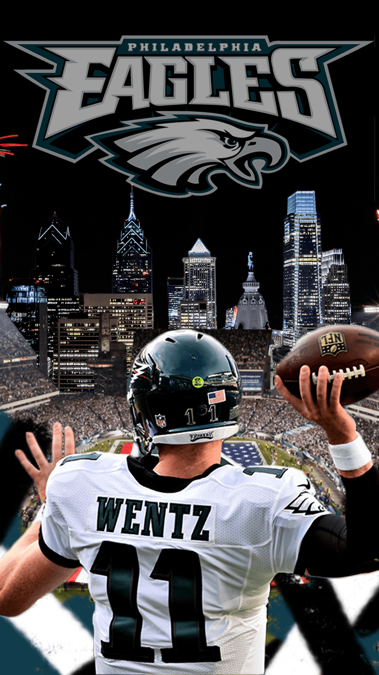 Carson Wentz Eagles Iphone Wallpaper Image Gallery - HCPR